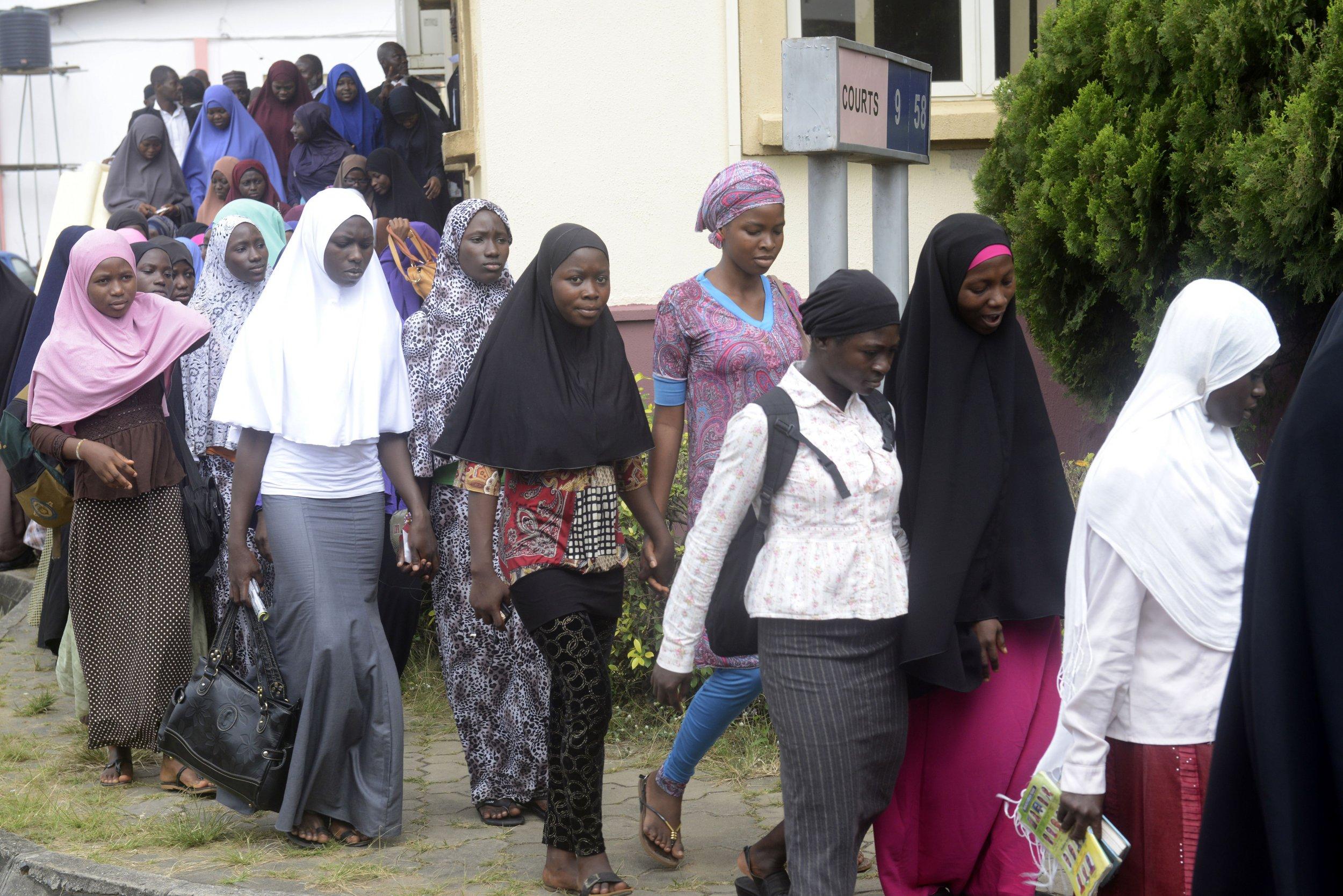Muslim students in Nigeria.