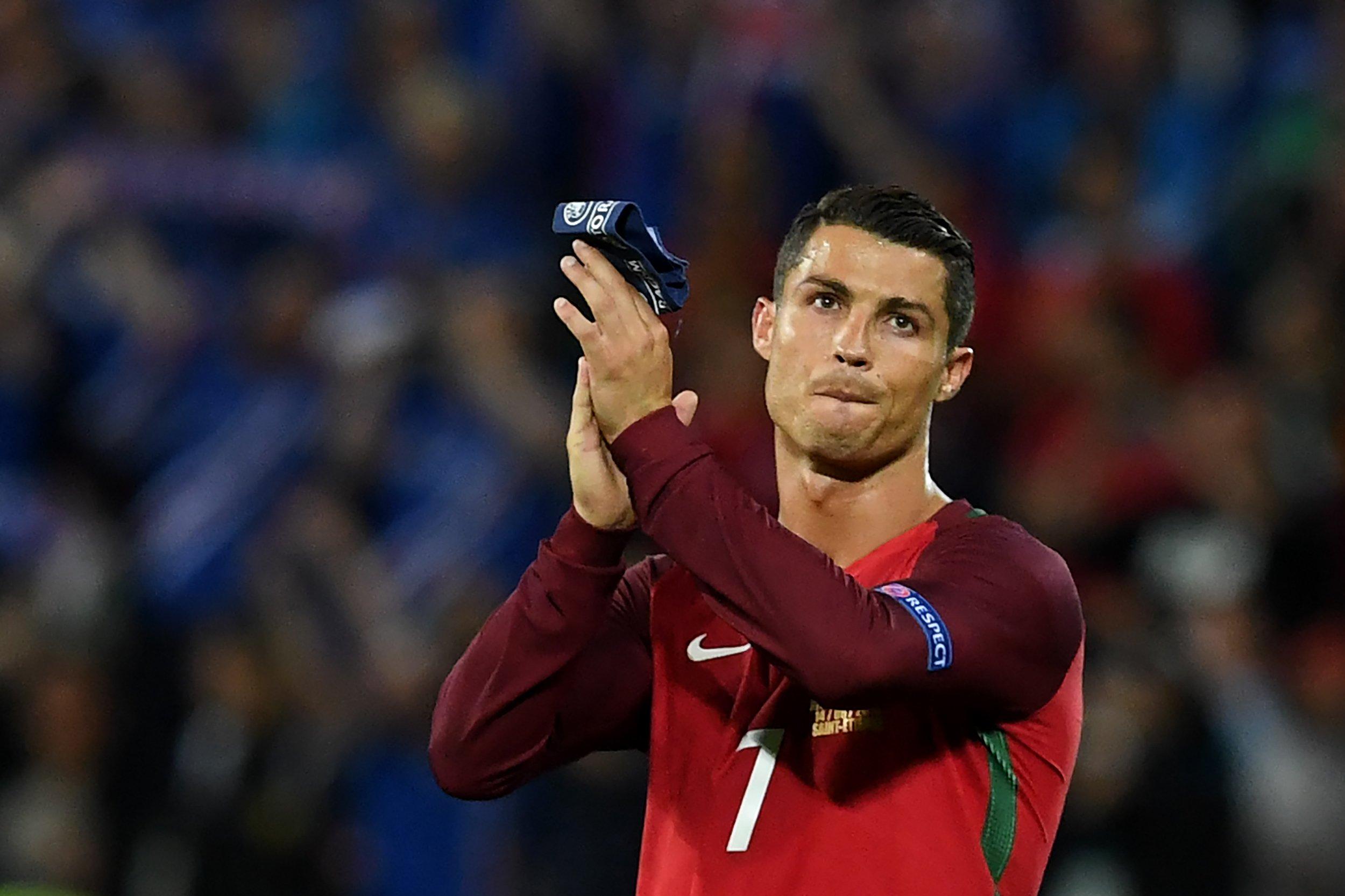 Portugal star Cristiano Ronaldo