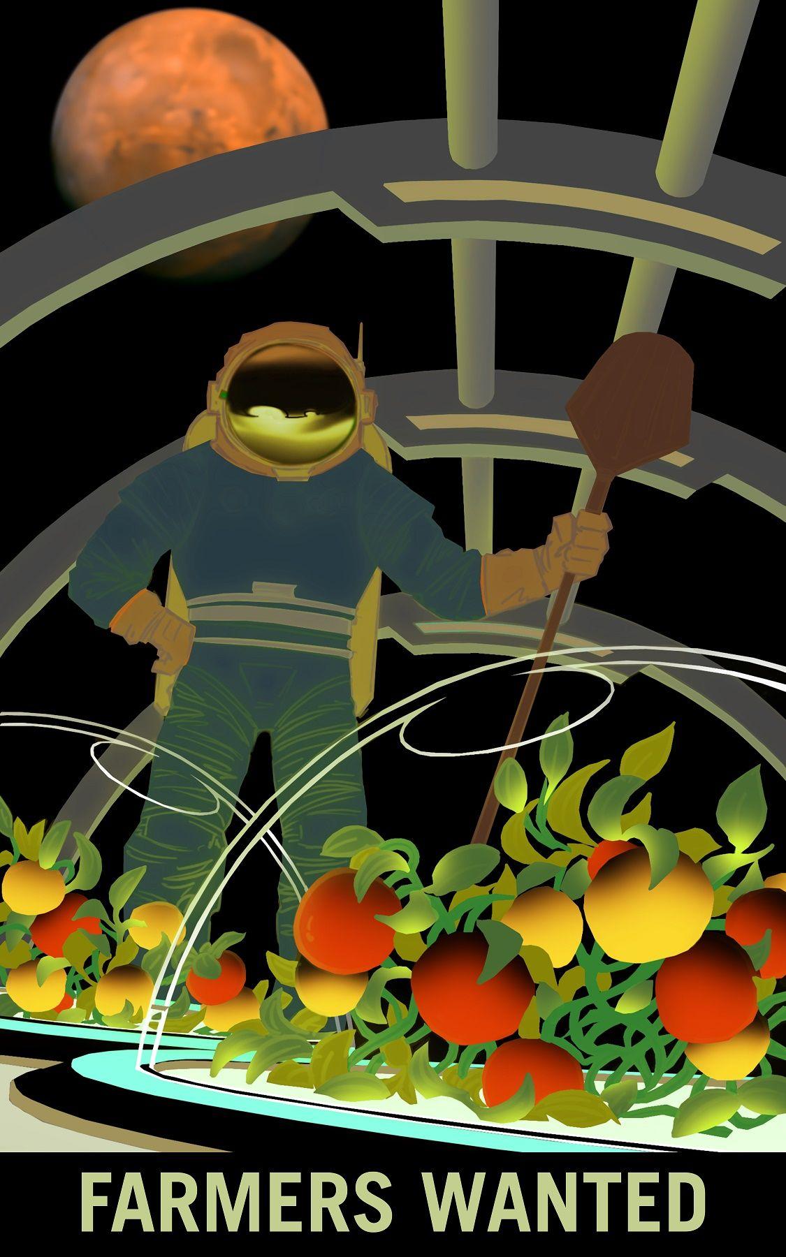 Mars farmers wanted NASA