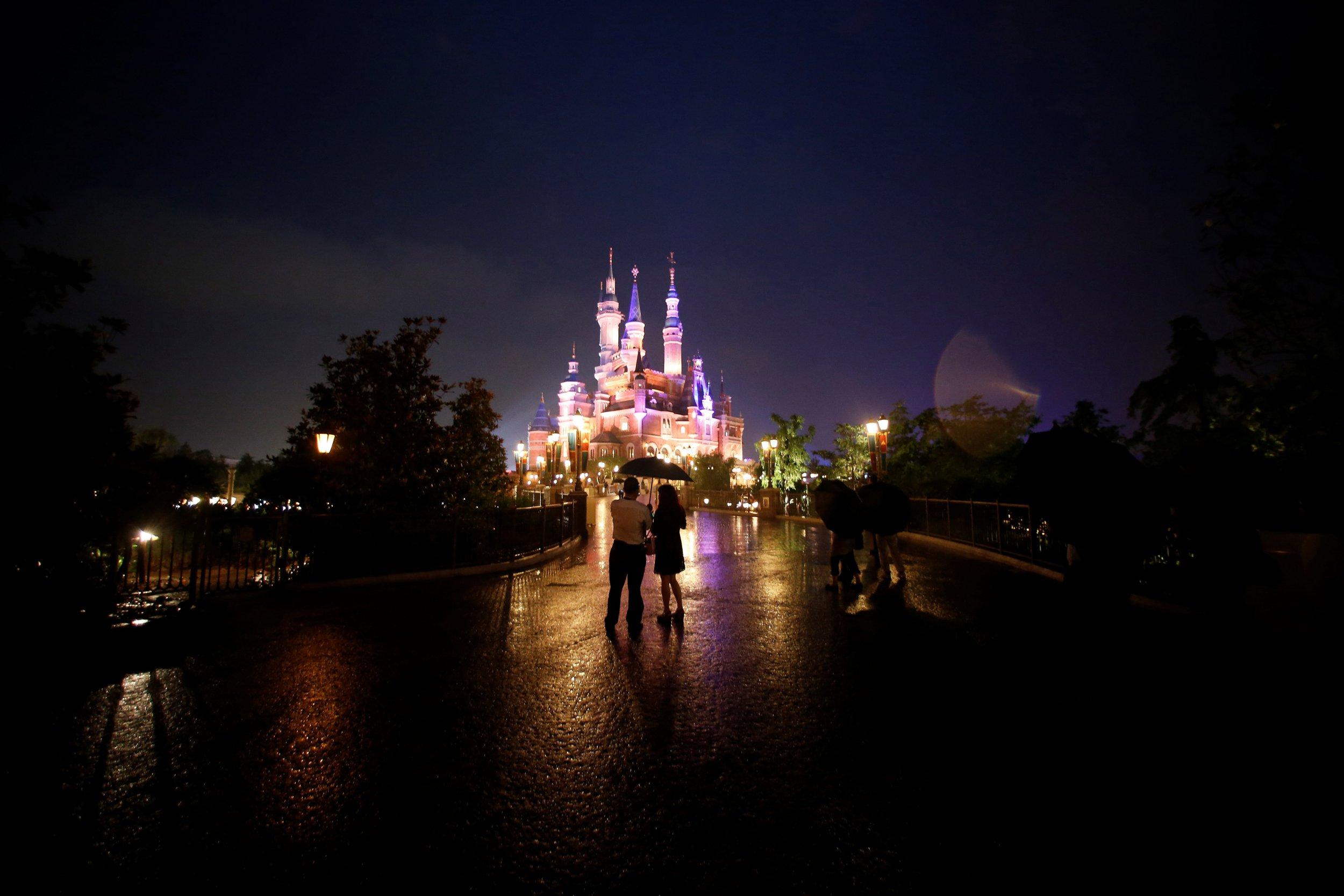Disney opens in Shanghai