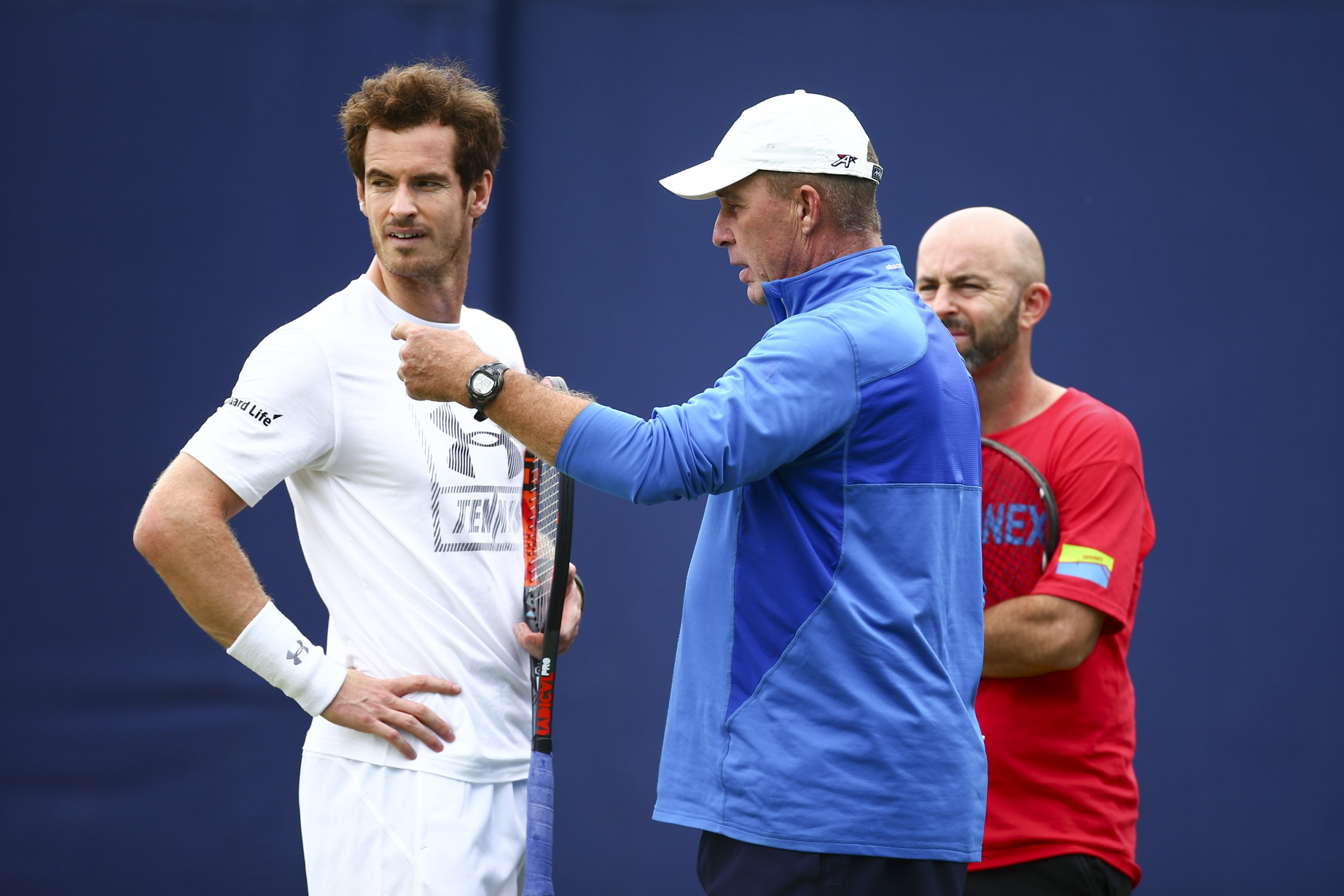 Andy Murray and Ivan Lendl Out to Ruin Novak Djokovic s Perfect Year