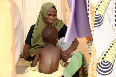 Malnourished child rescued from Boko Haram