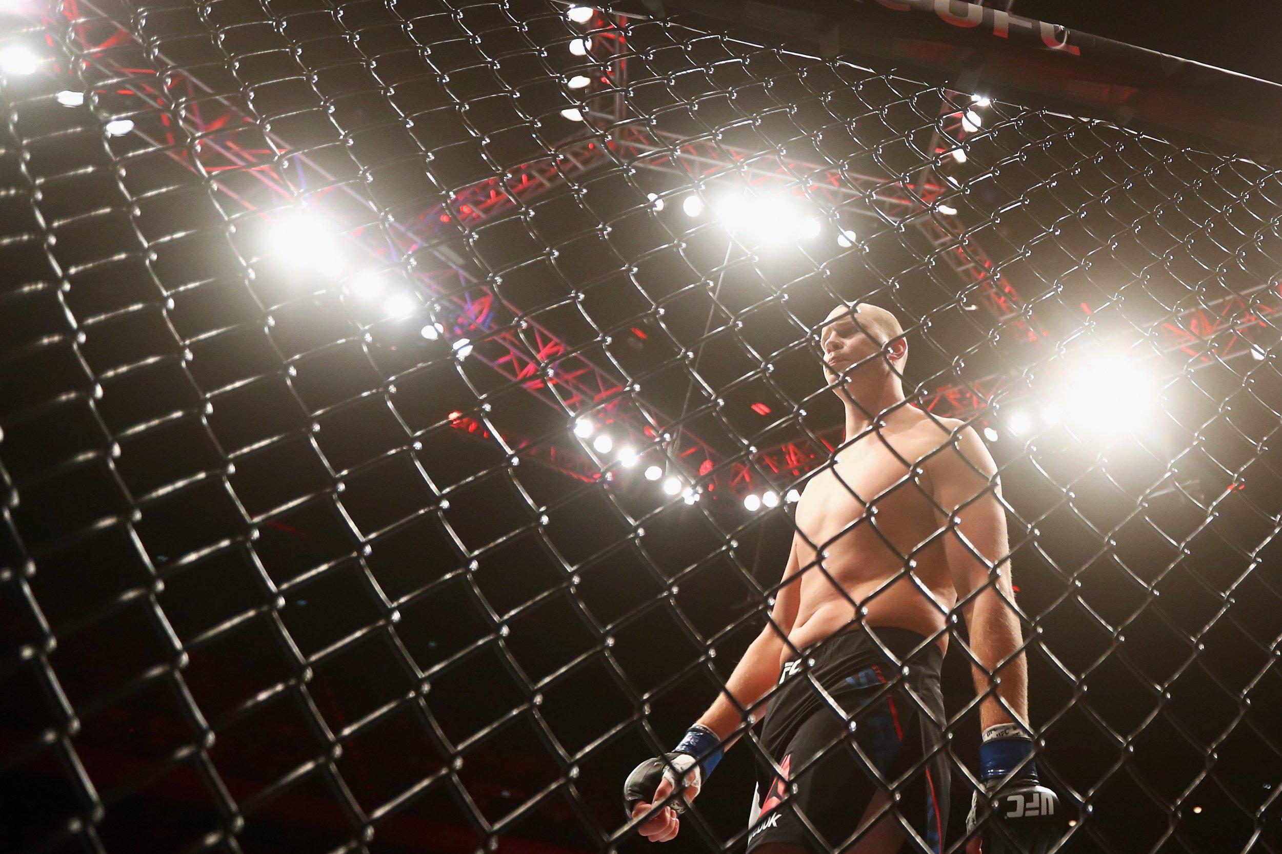 UFC fighter Stefan Struve.