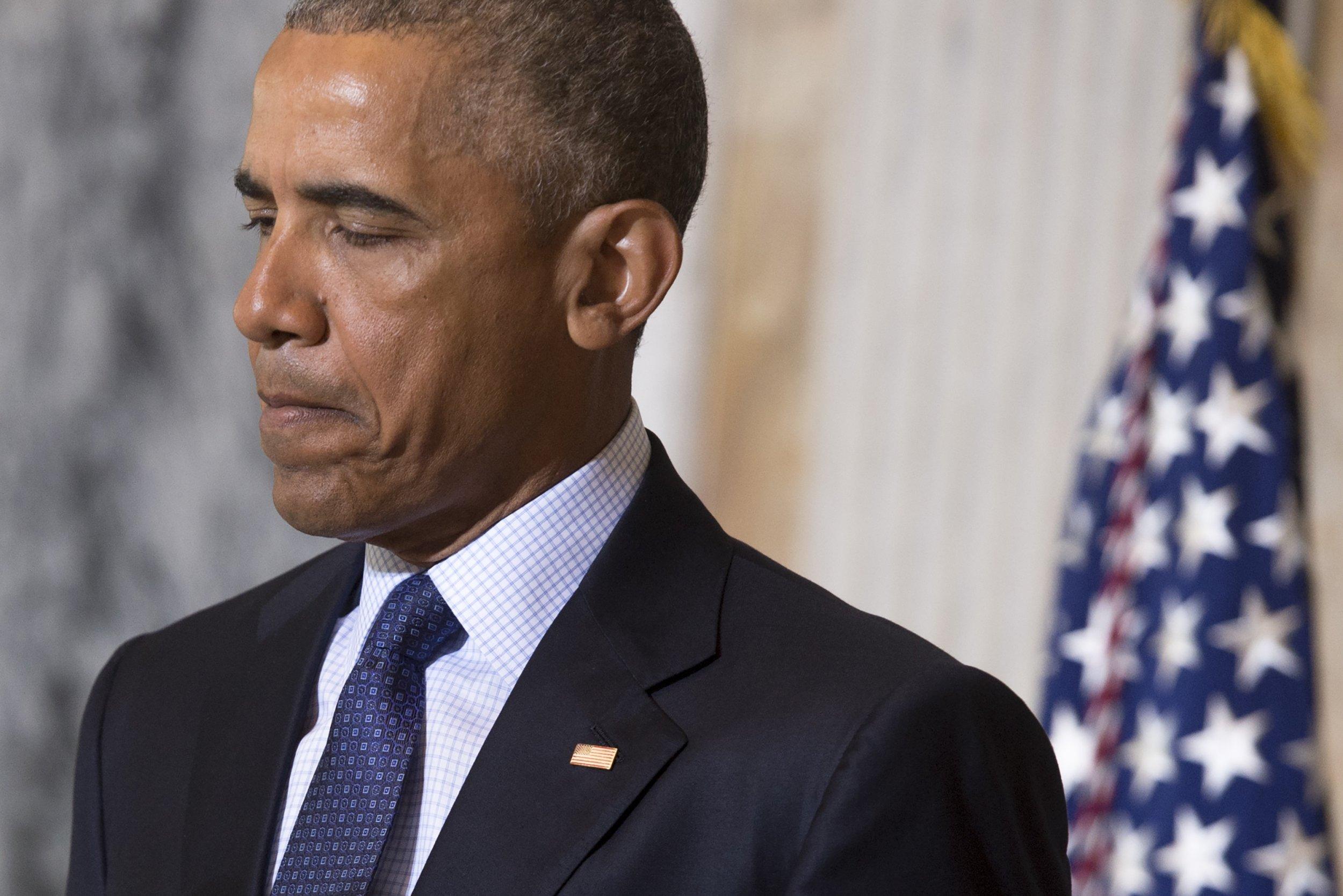 Obama speaks after ISIS meeting