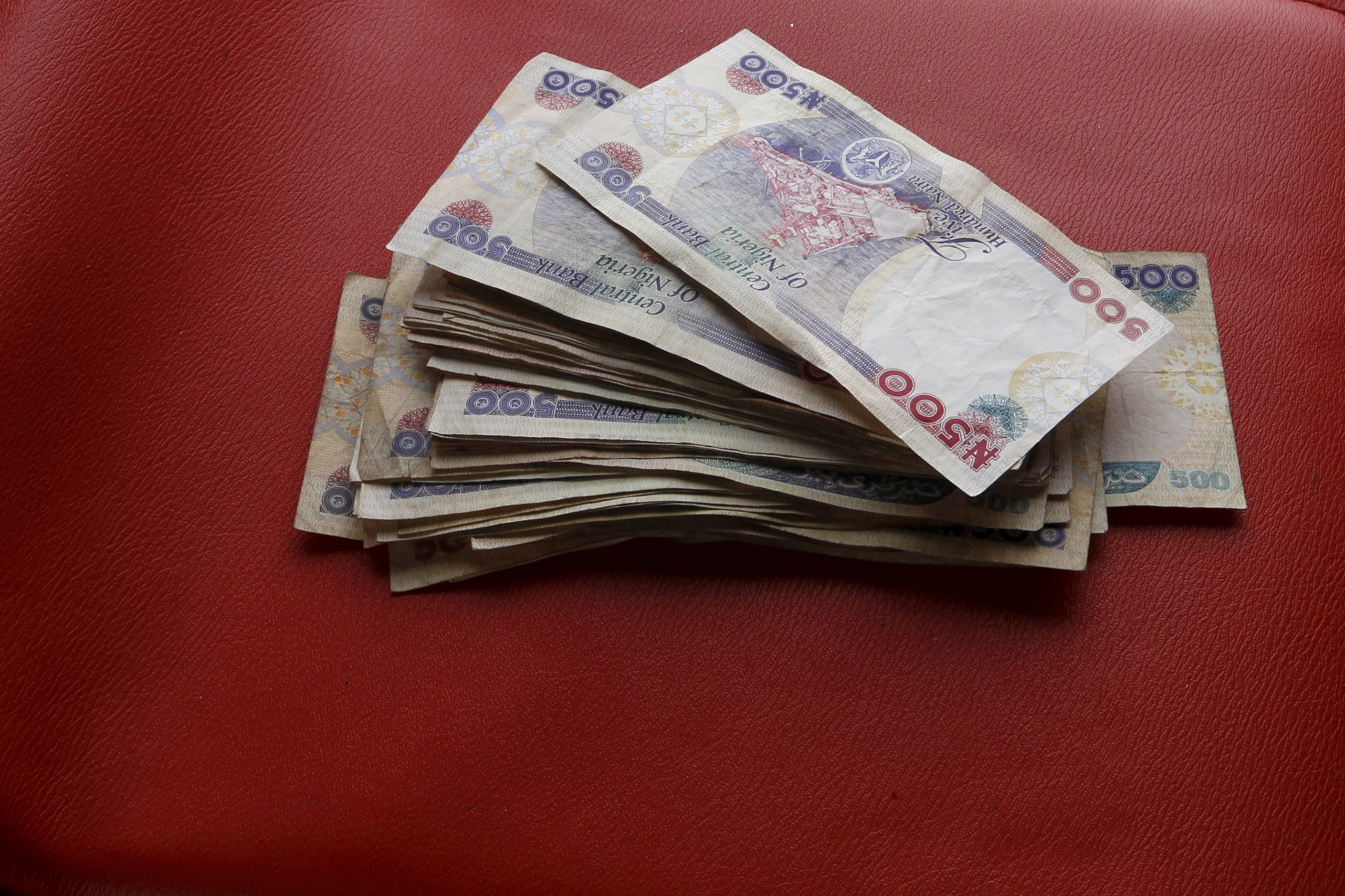 Nigeria naira notes