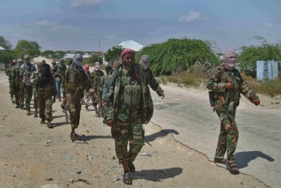 Al-Shabab recruits