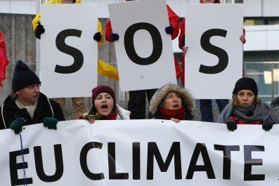 EU Climate Protesters