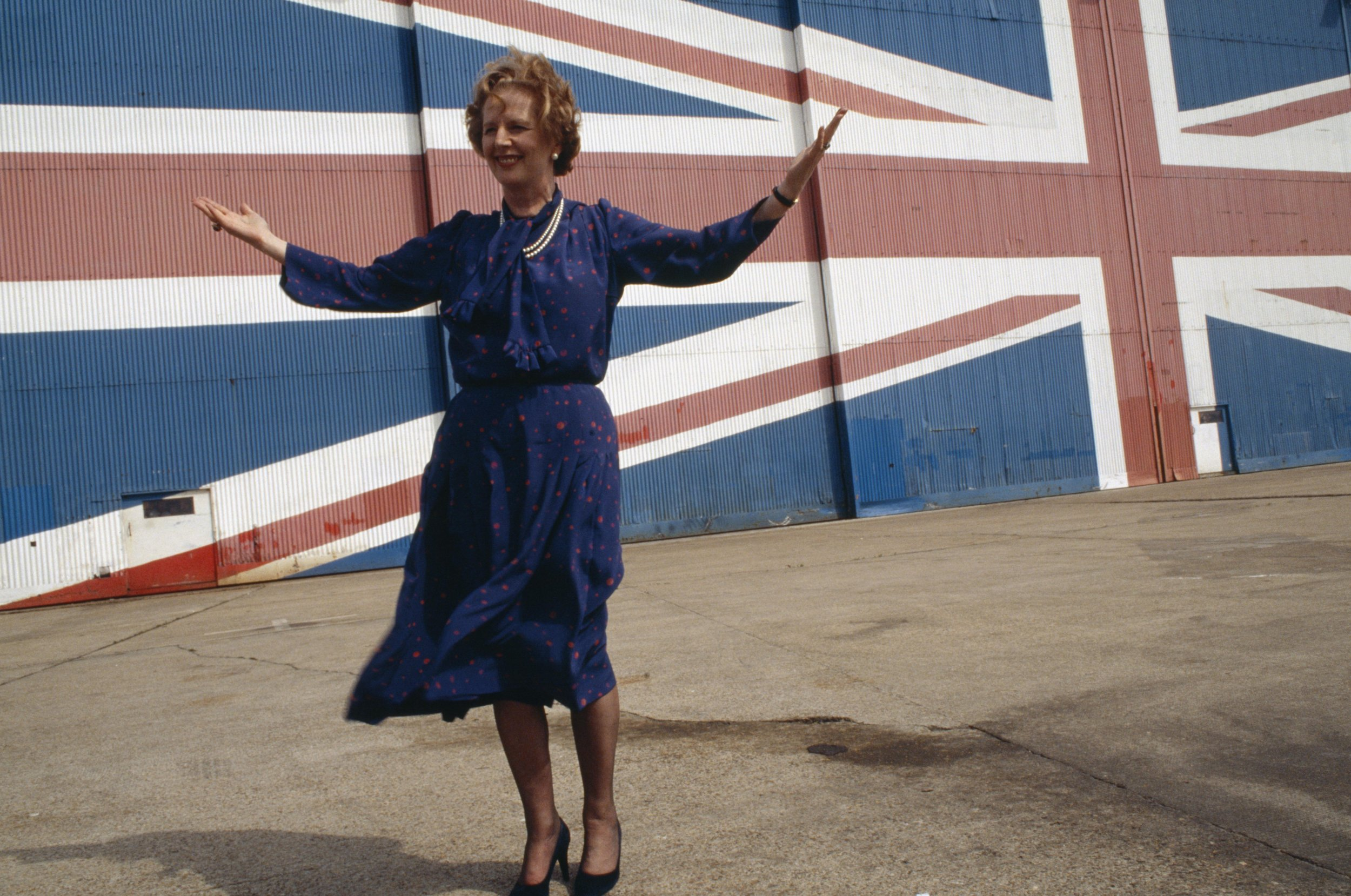 Thatcher launching manifesto