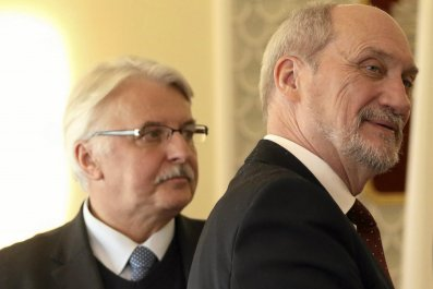 Poland's defence and foreign ministers