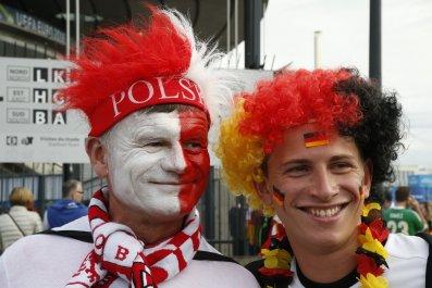 Poland Germany friend