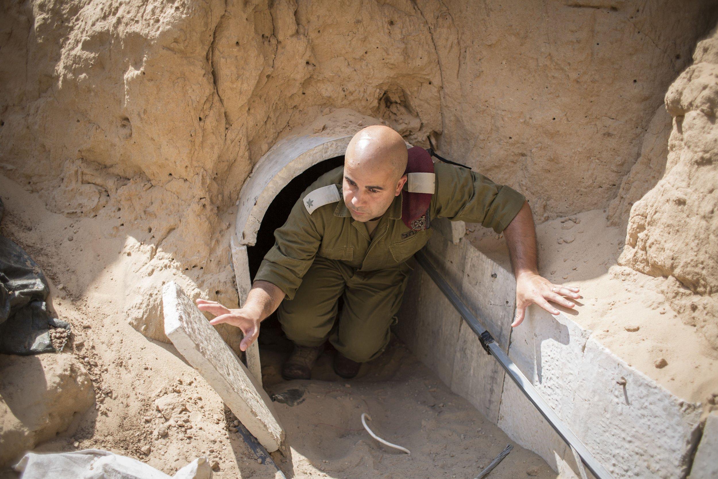 Israeli military tunnel