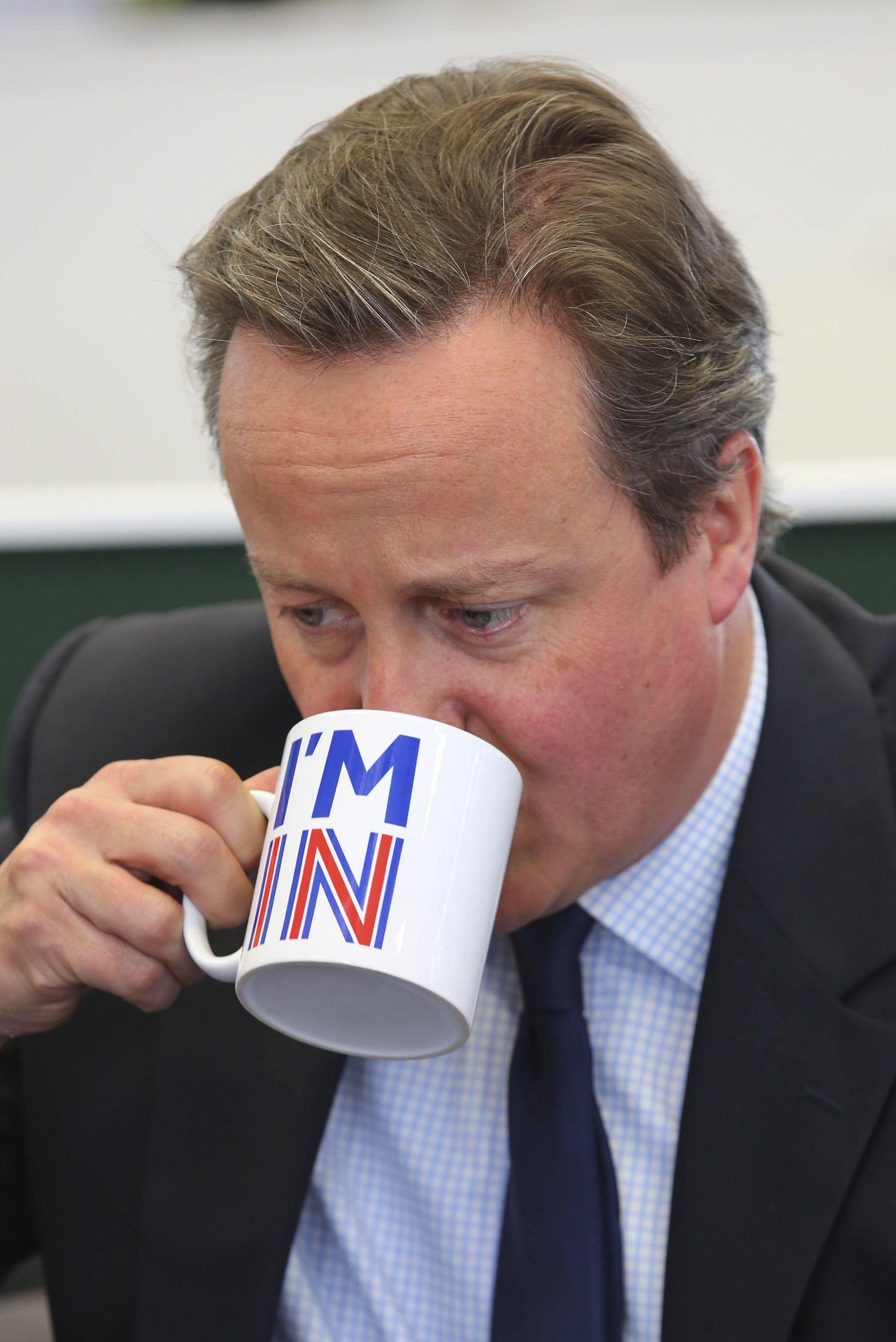 David Cameron's coffee