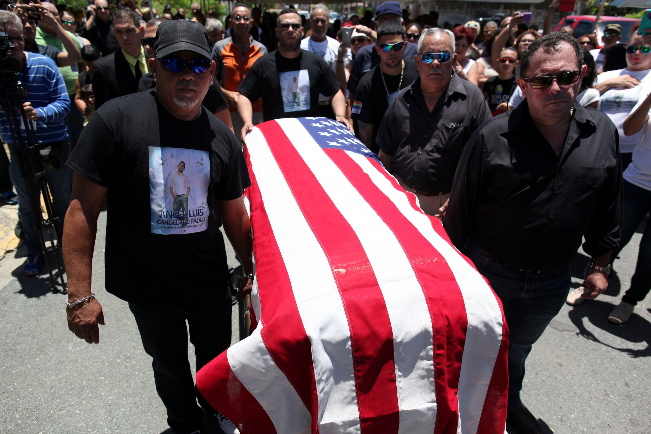 Angel Candelario Funeral