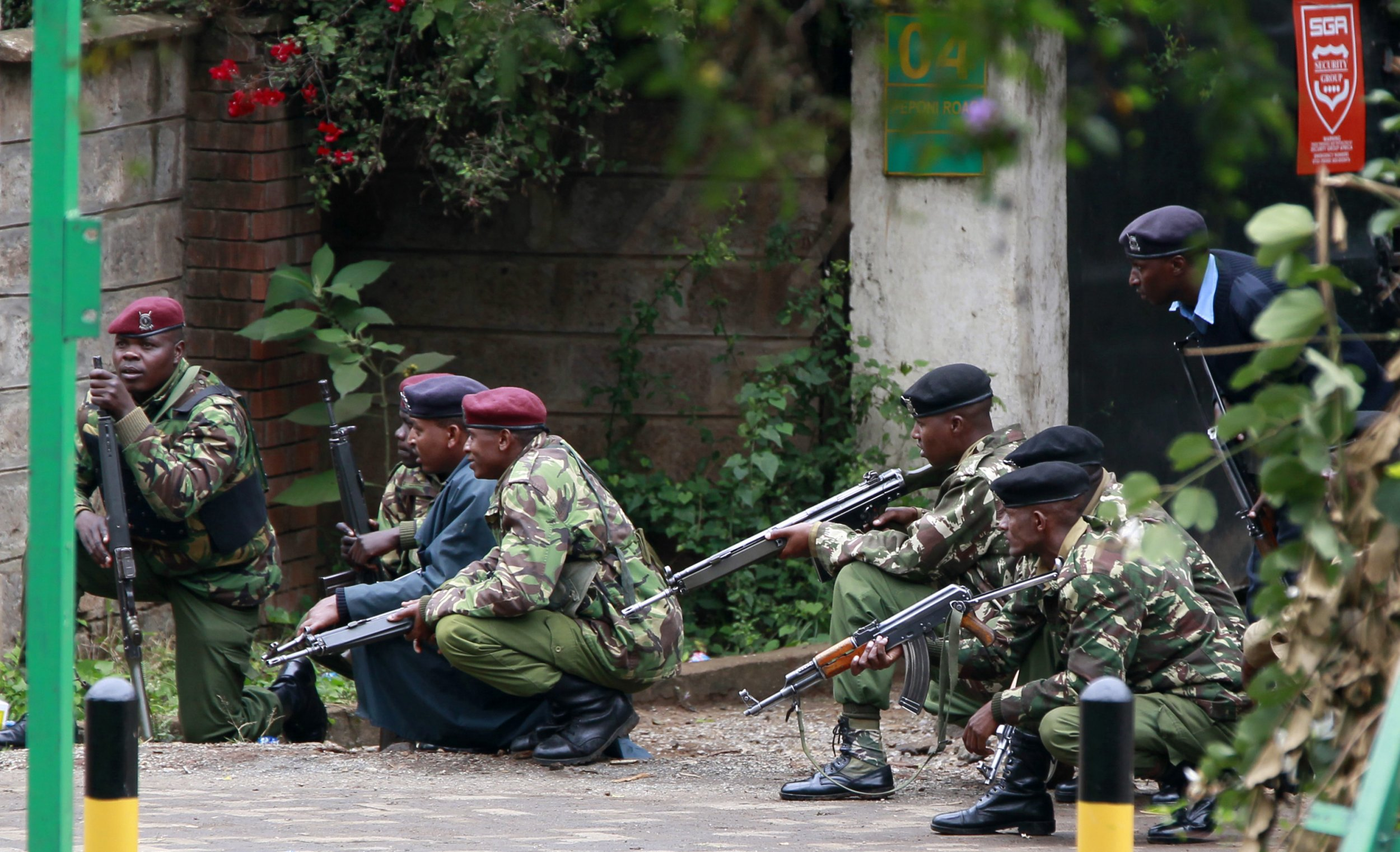 Kenya police during Westgate attack