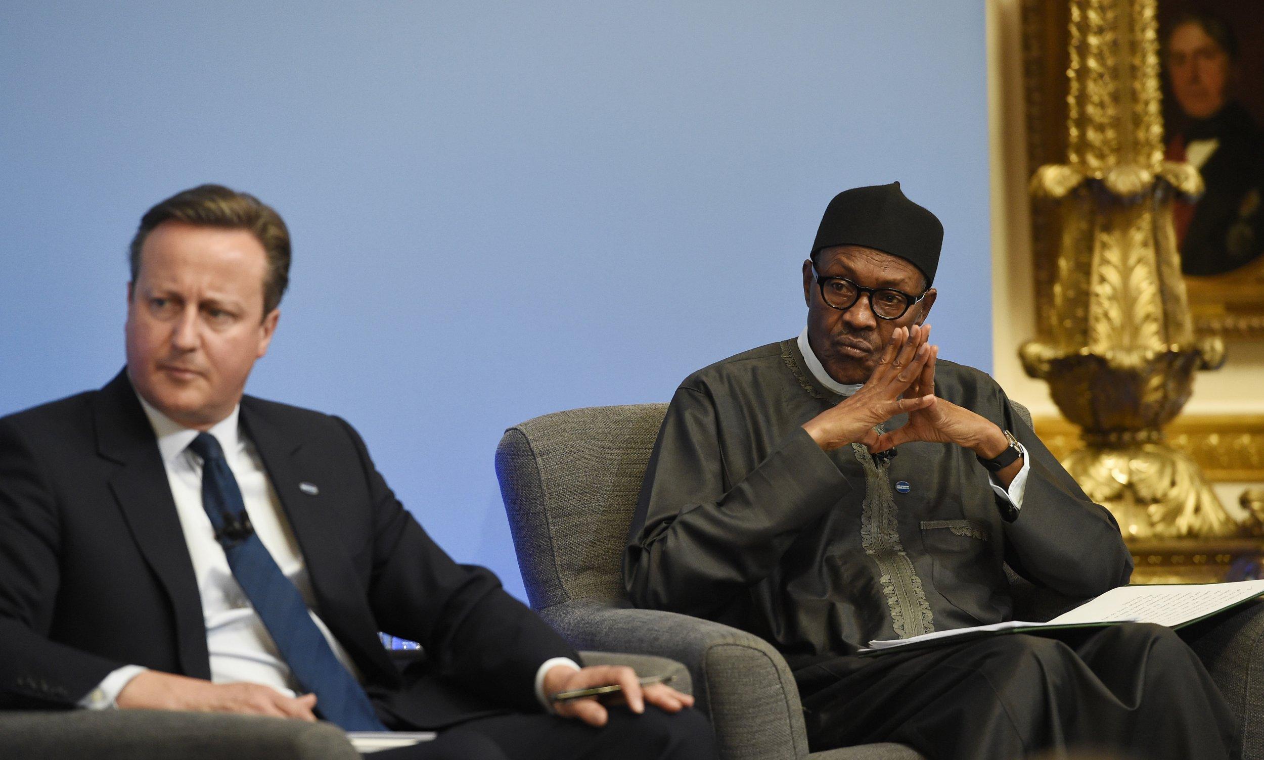President Buhari with Cameron