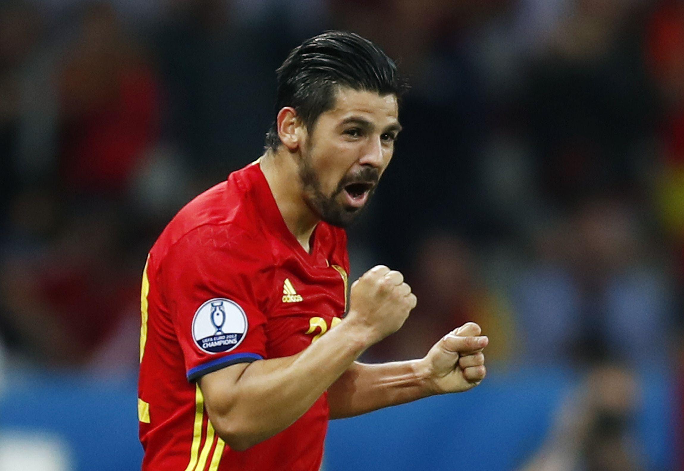 Spain winger Nolito.