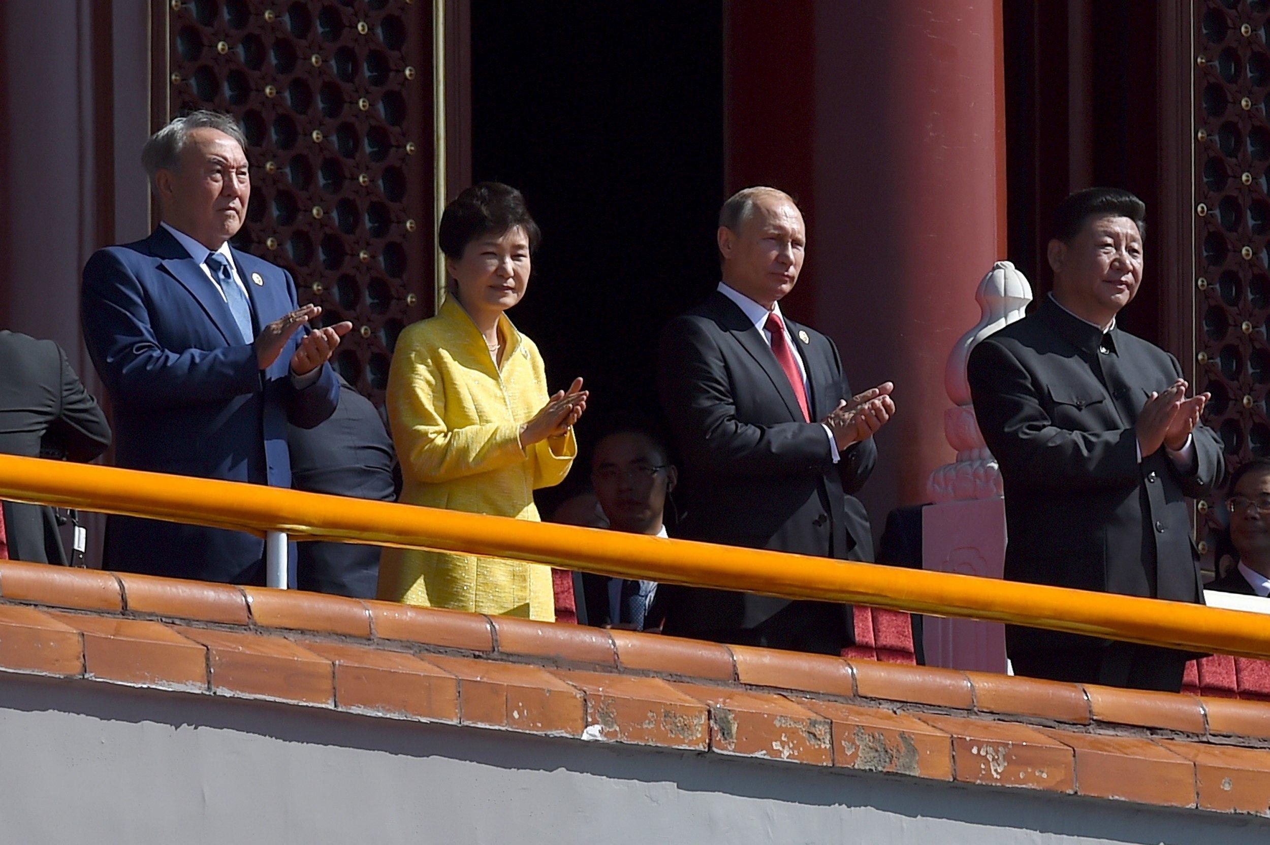 Putin and Xi in Beijing