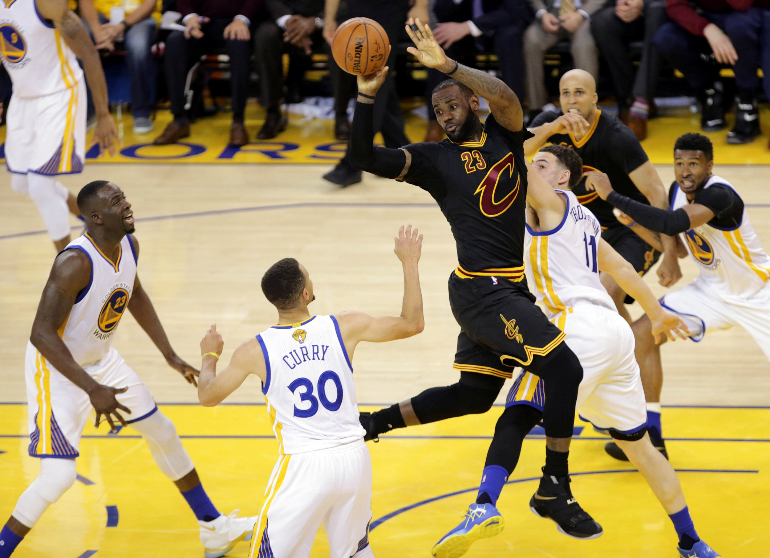 fafcc93c7d3 James was head and shoulders above everyone in the 2016 NBA Finals. USA  TODAY SPORTS