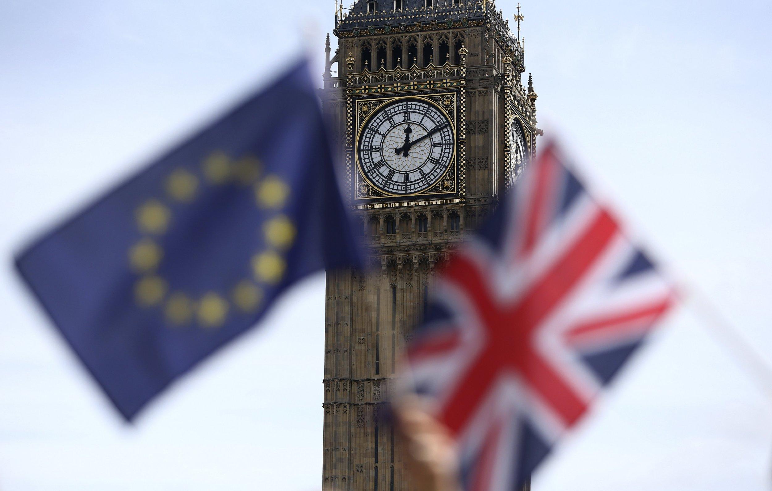 Brexit Eu British Flag