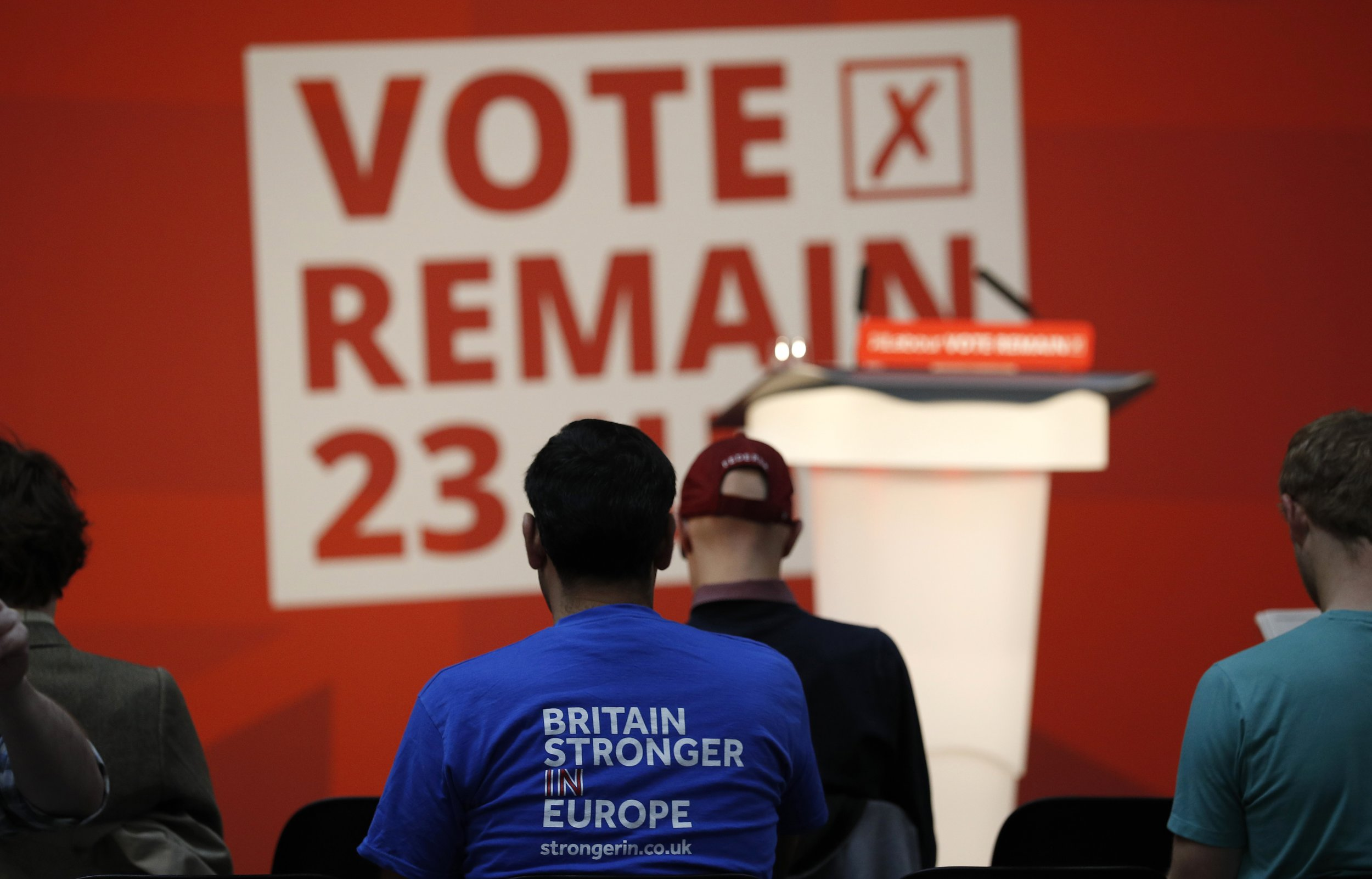 Peter Kellner on Brexit: My Hunch Is Remain Are Just Ahead