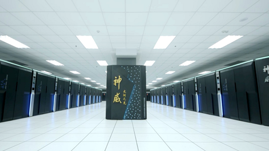 China supercomputer US Sunway TaihuLight Top500