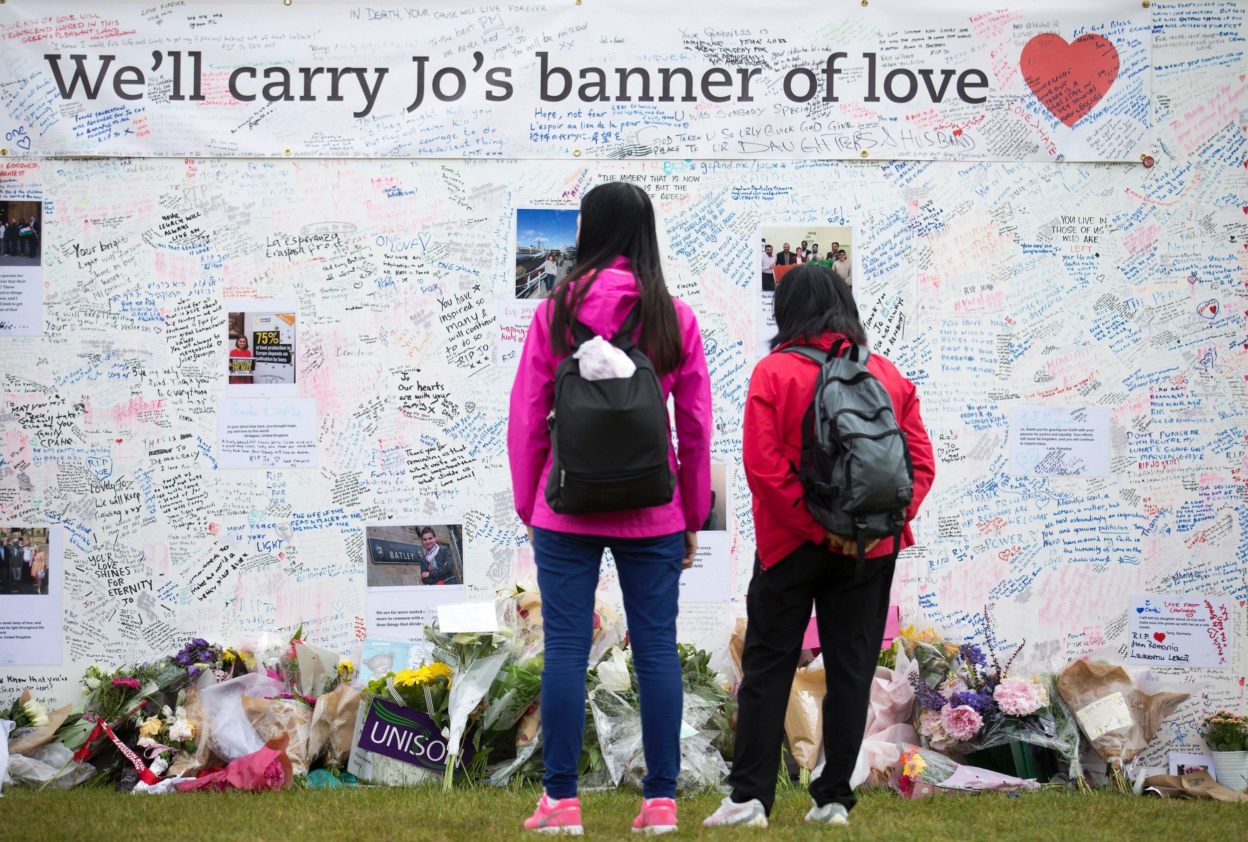 Jo Cox Tribute