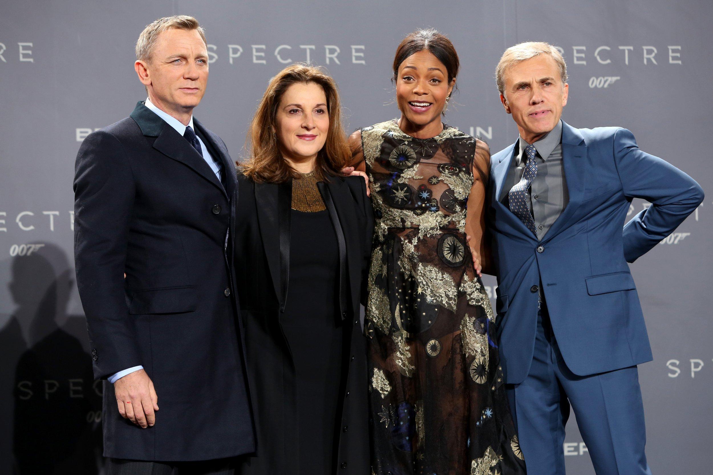 James Bond producer Barbara Broccoli with Daniel Craig