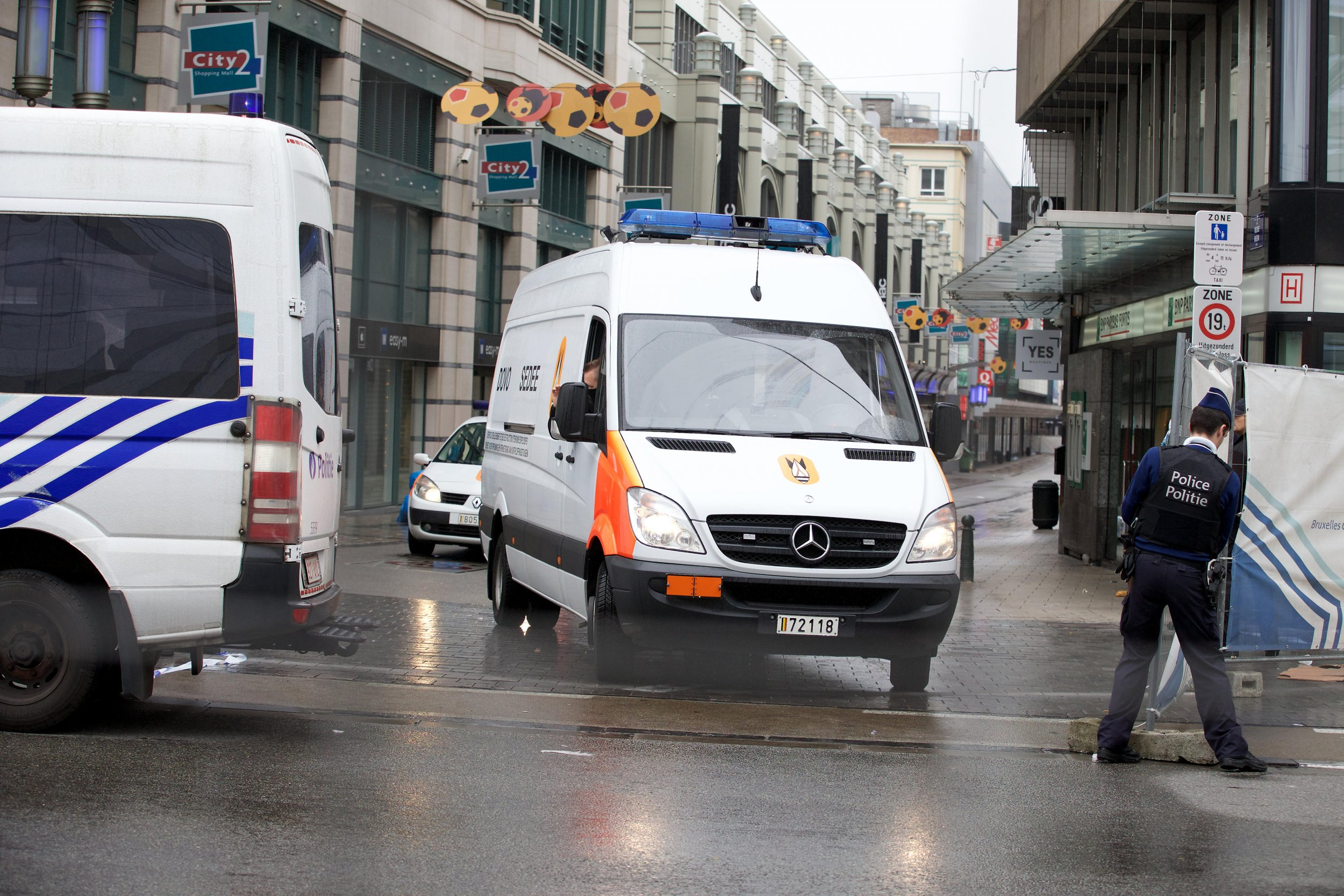 Brussels anti-extremism operation