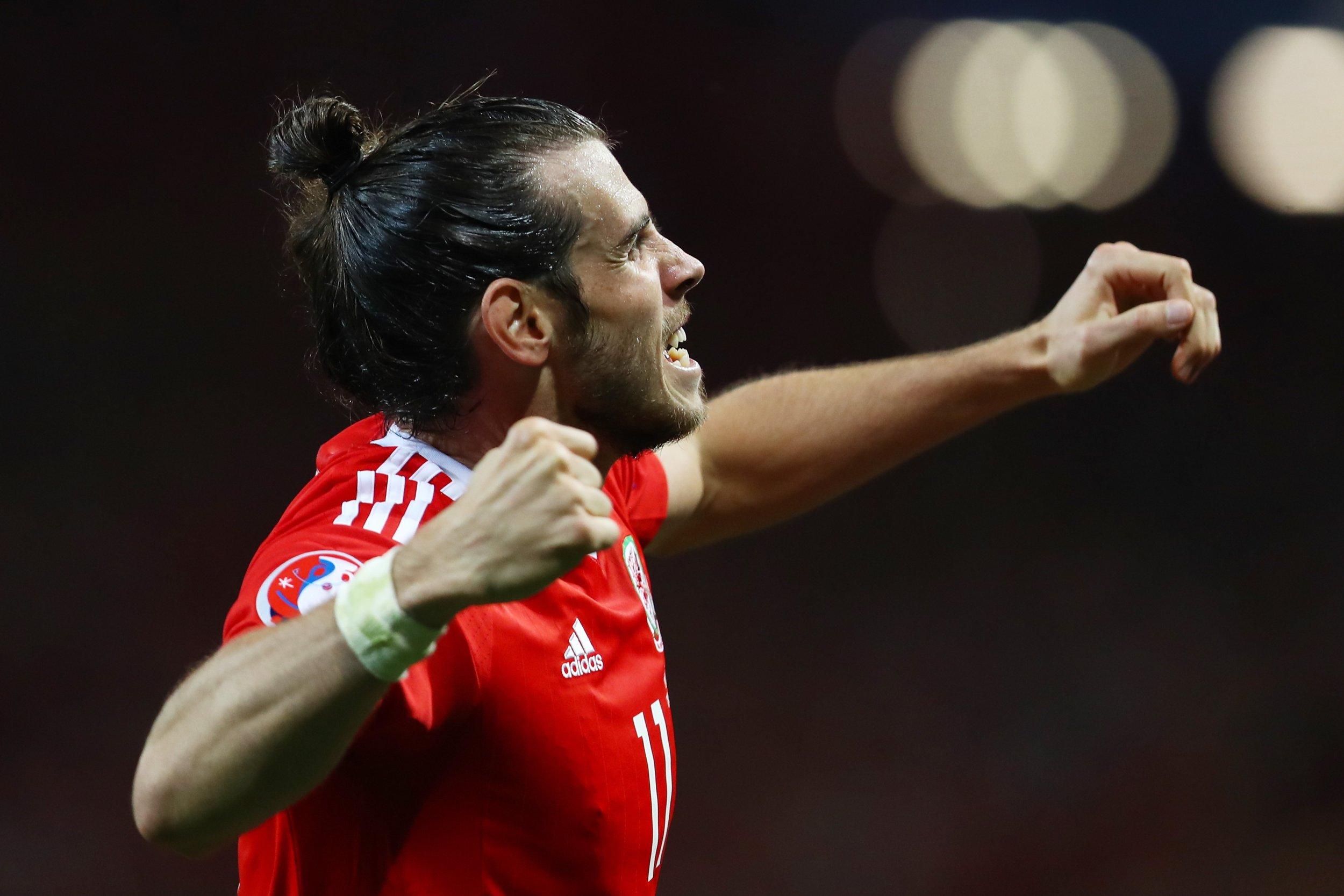 Real Madrid and Wales star Gareth Bale.
