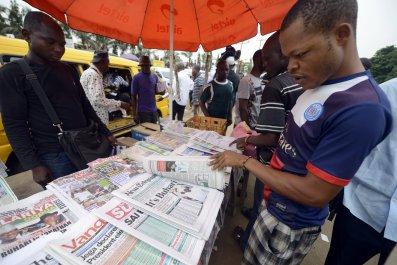 Nigeria news stand