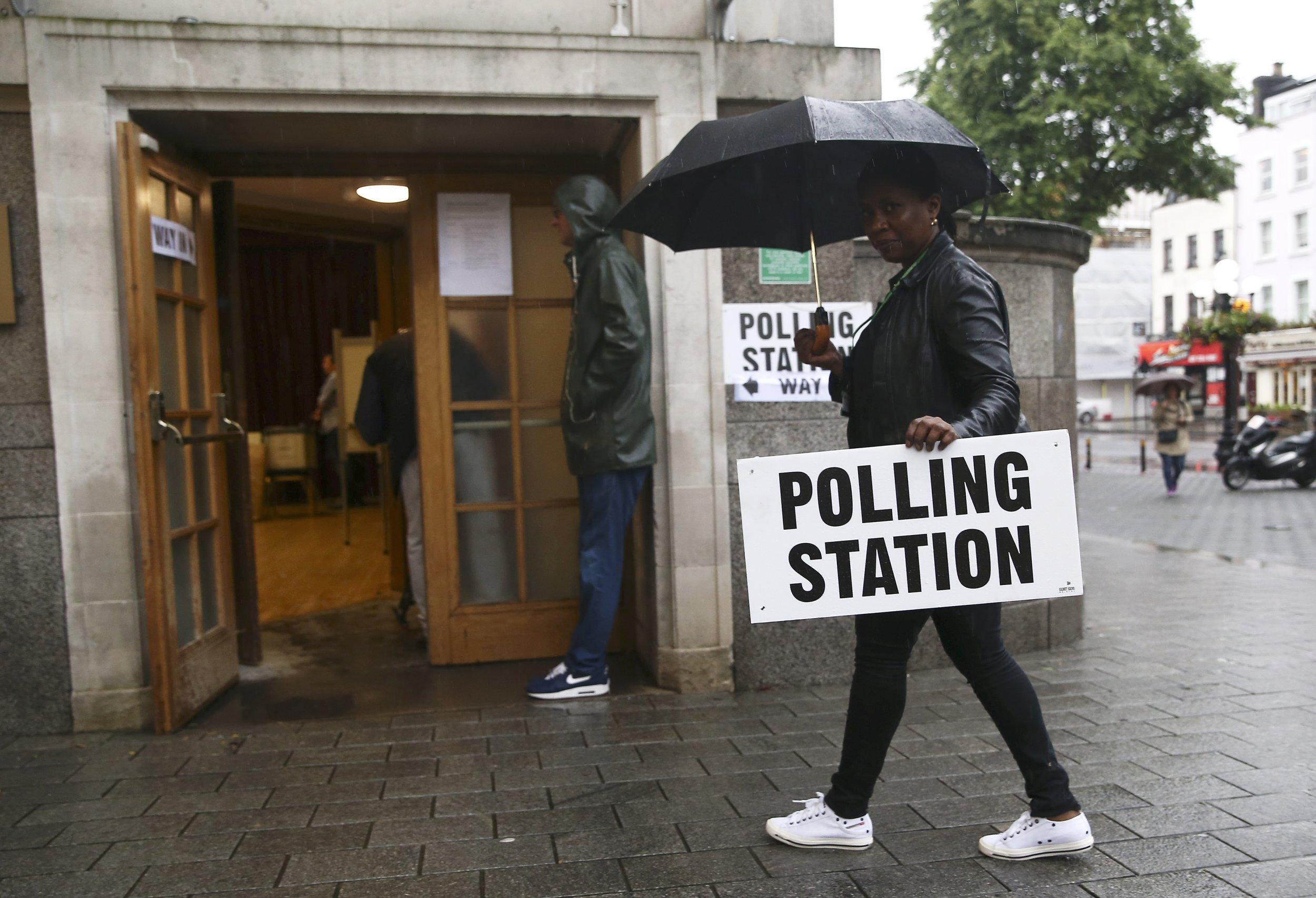EU referendum polling station