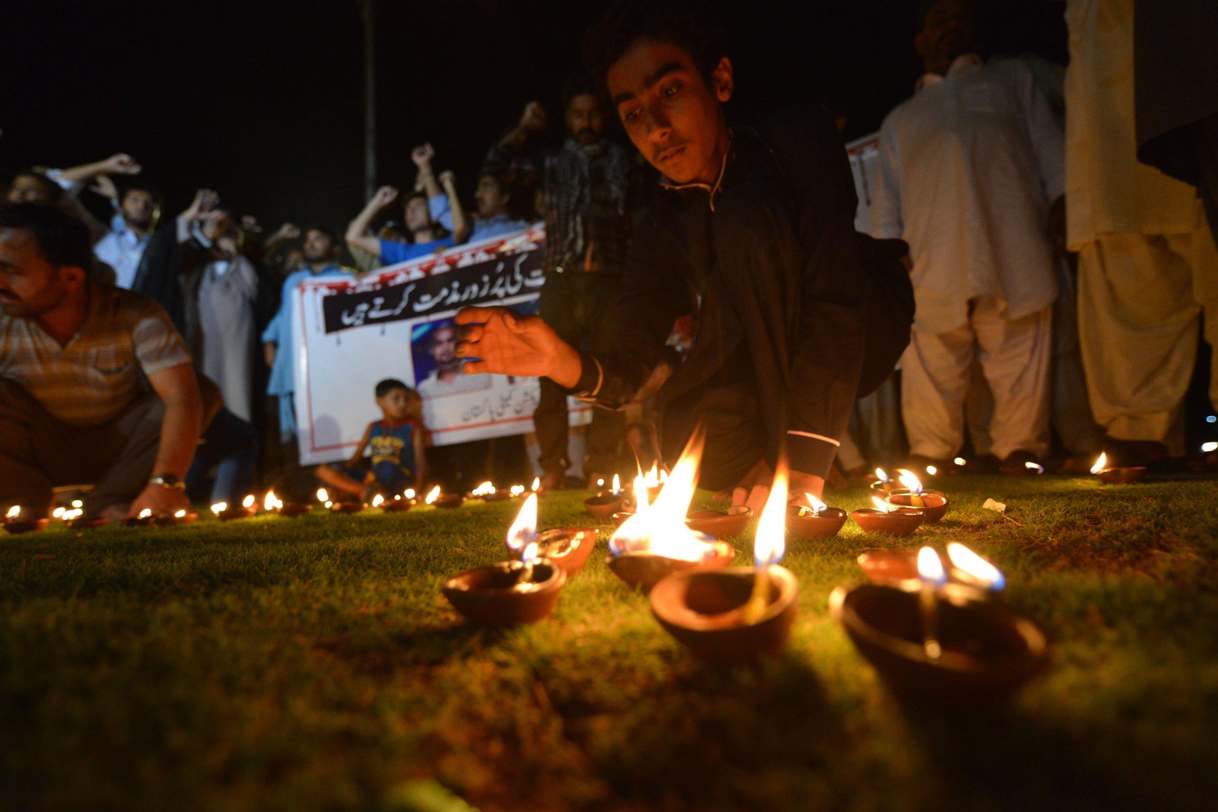 Amjad Sabri vigil