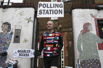 Brexit Polling Station