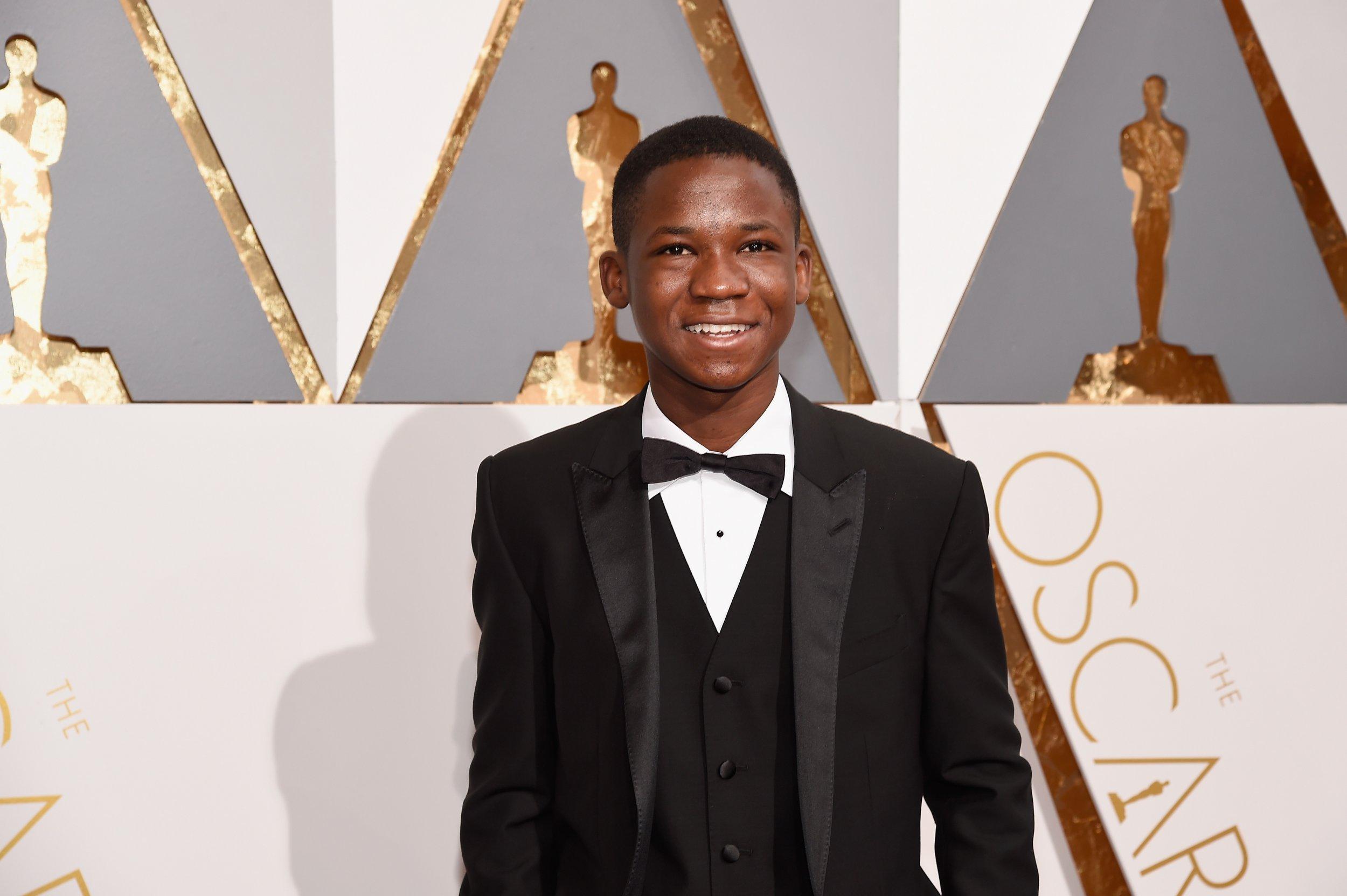 Abraham Attah at the Oscars