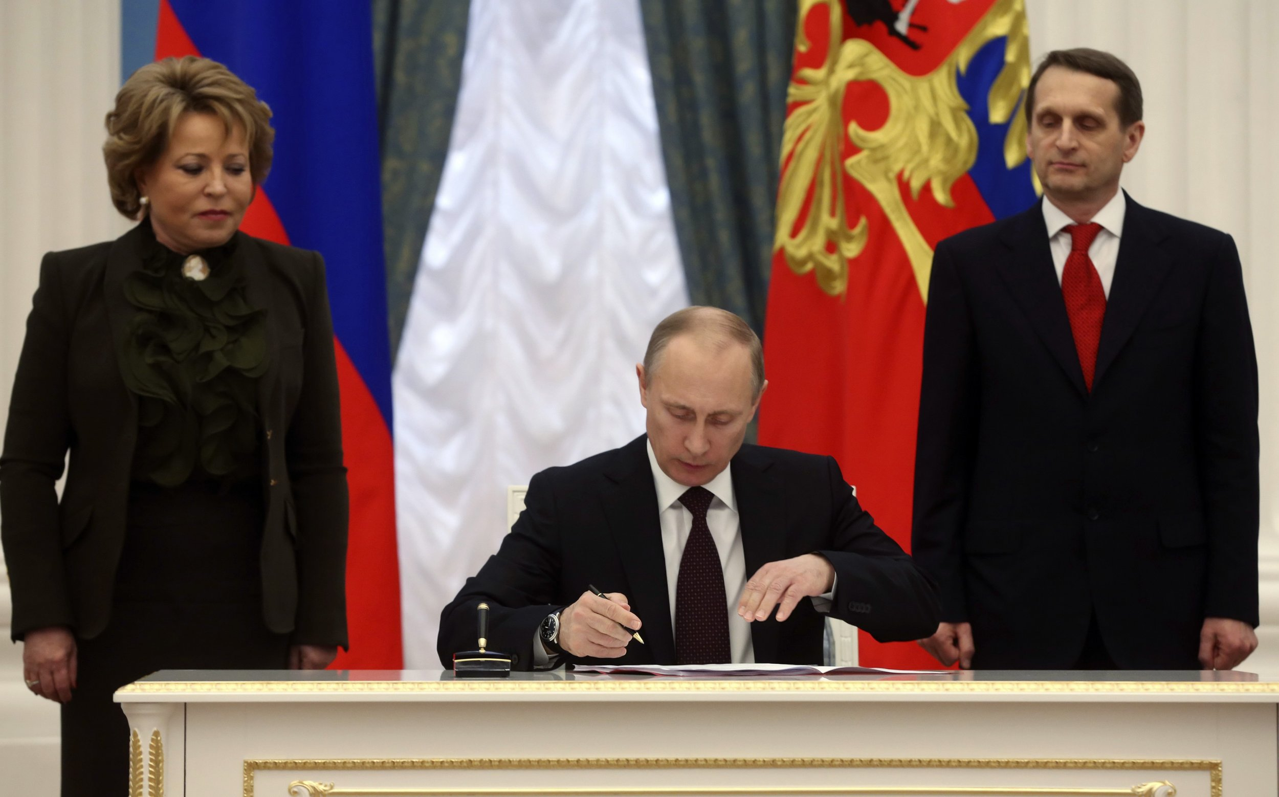 Putin, Naryshkin and Matviyenko
