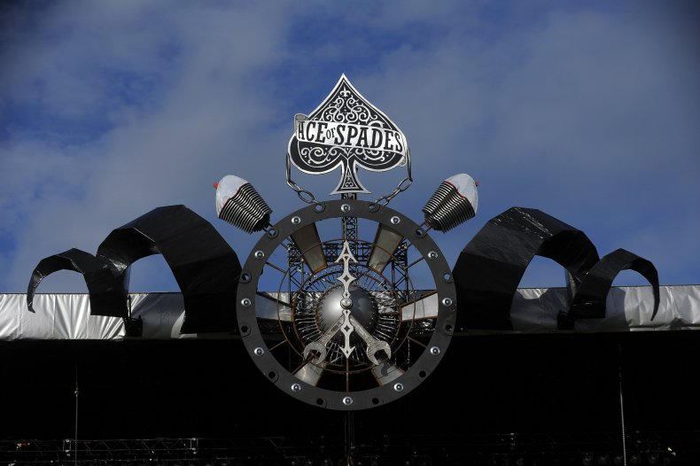 Lemmy tribute at Glastonbury