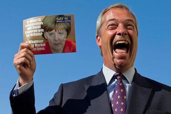 Nigel Farage Brexit Margate
