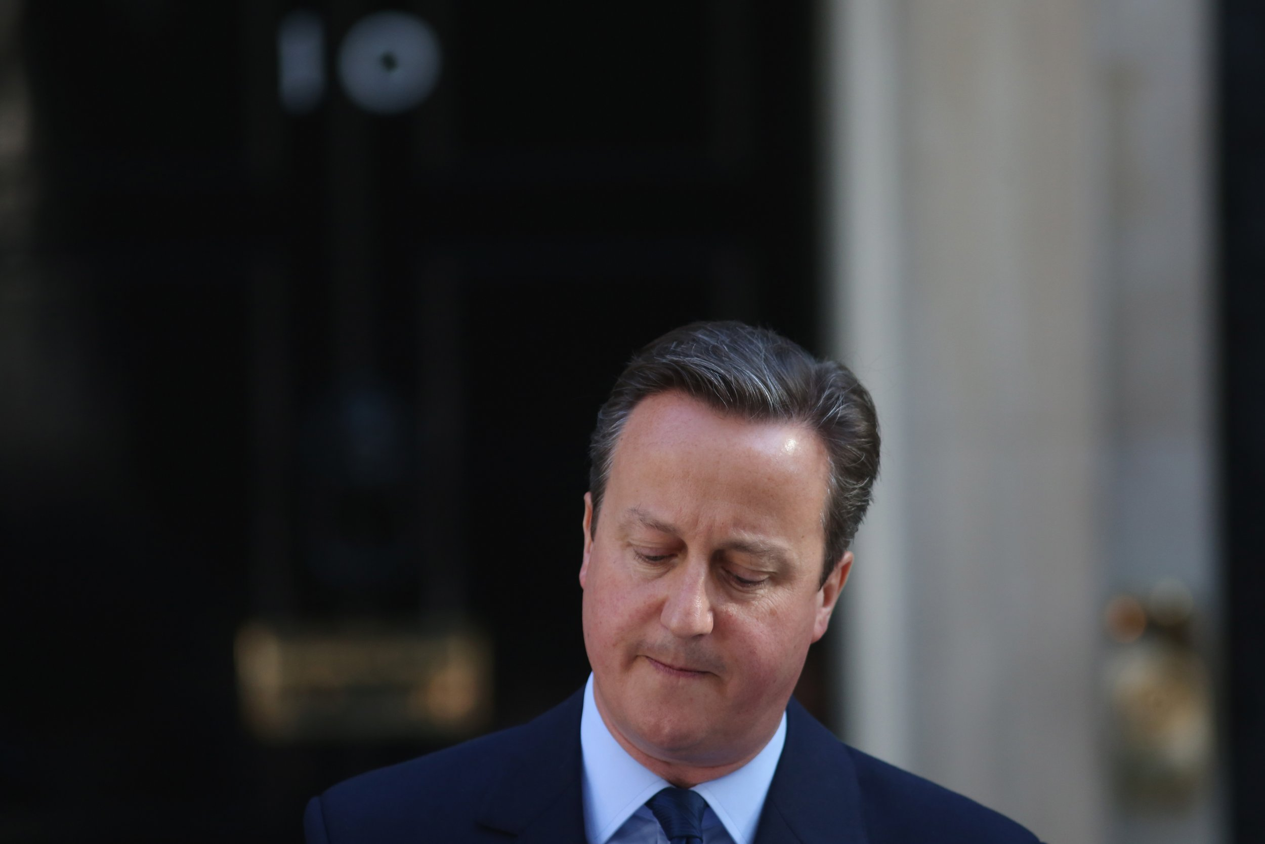 David Cameron resignation speech