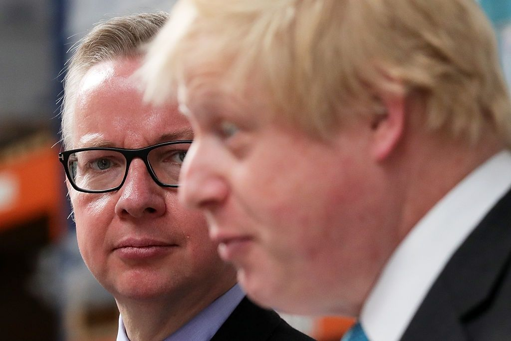 Next prime minister boris johnson michael gove