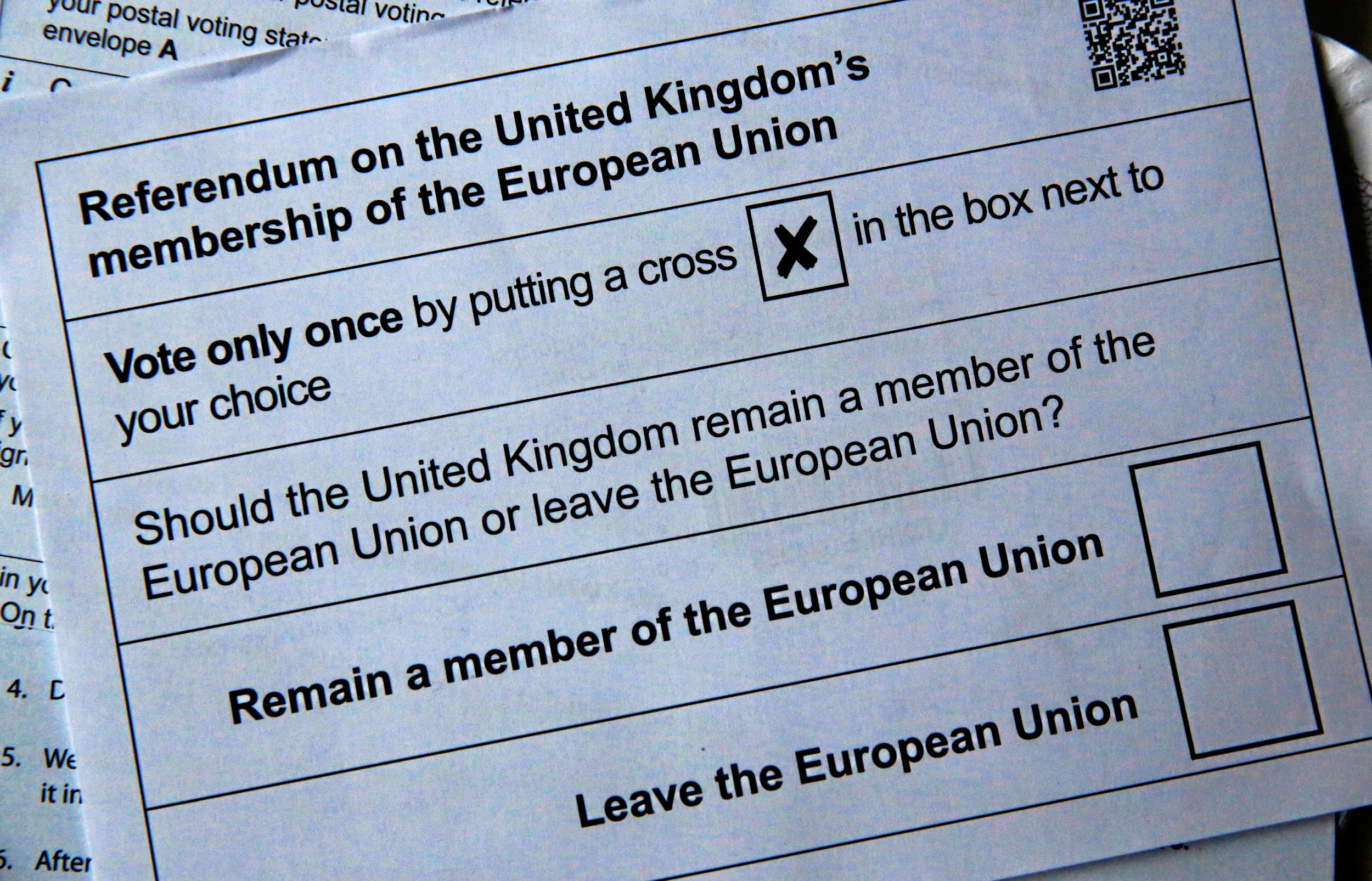 Referendum papers
