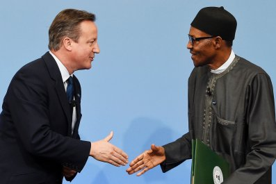 Cameron meets Buhari