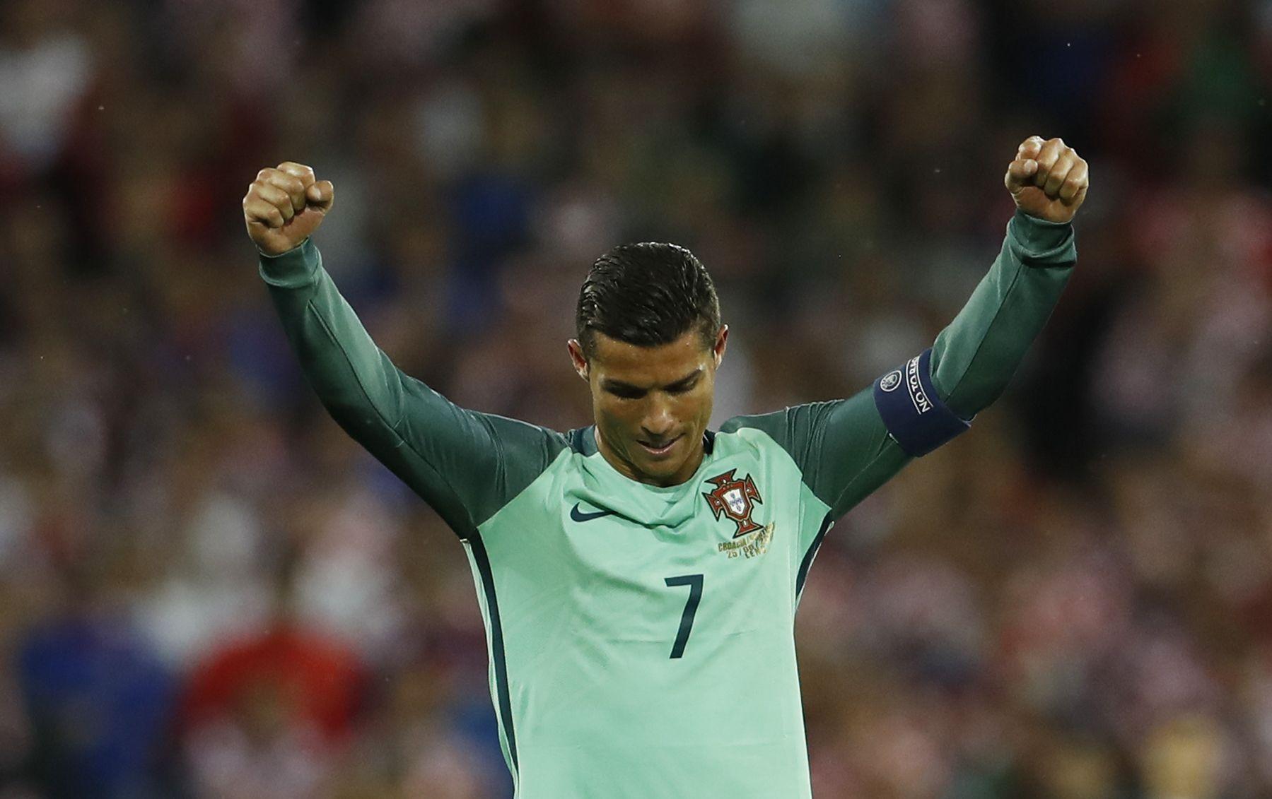Portugal star Cristiano Ronaldo.