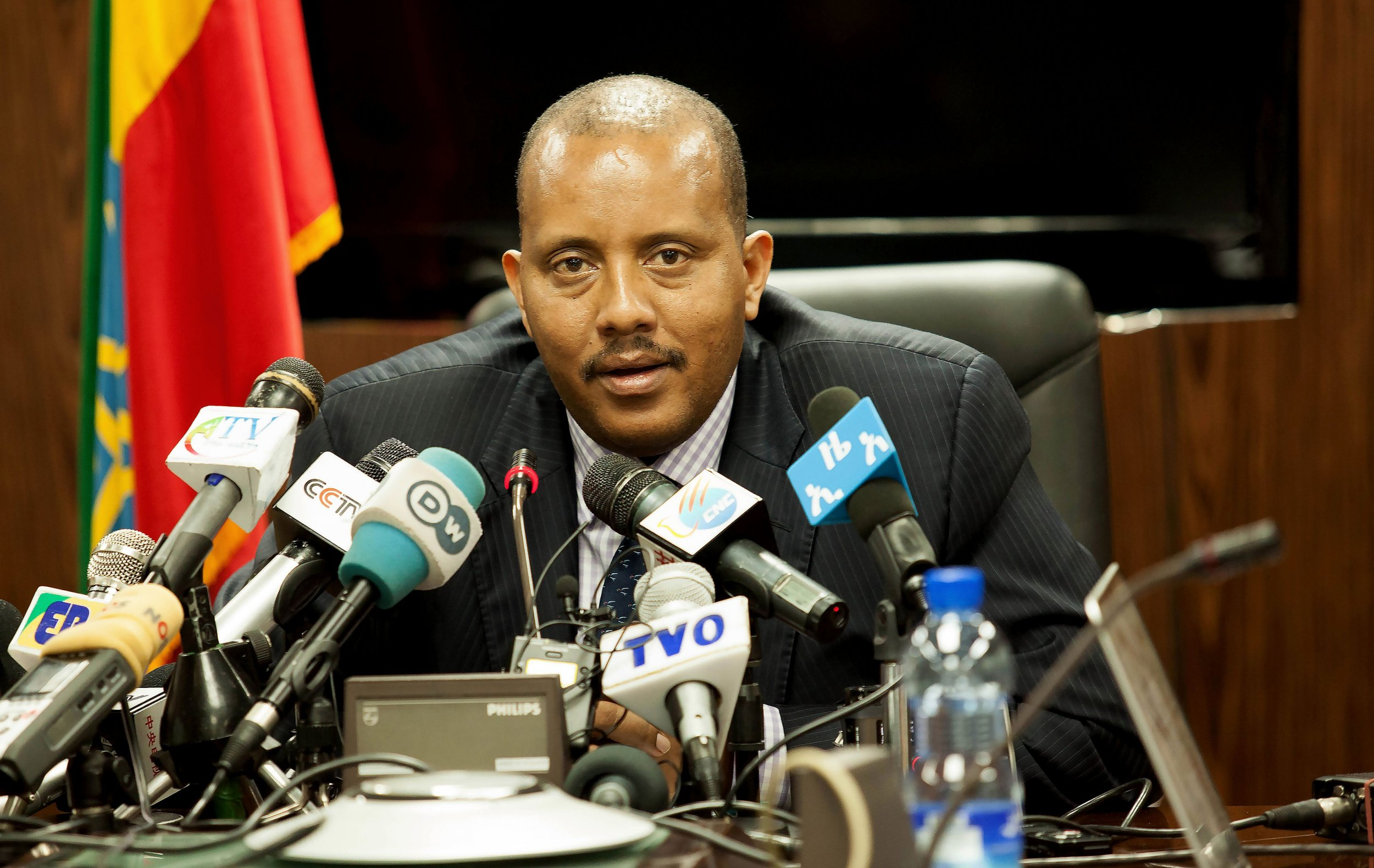 Ethiopian communications minister Getachew Reda