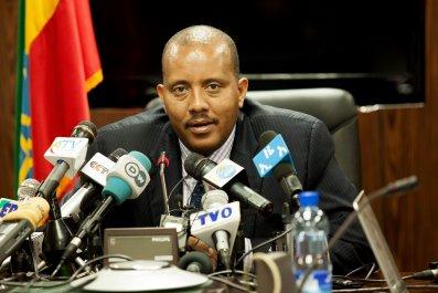 Ethiopian communications minister Getachew Reda