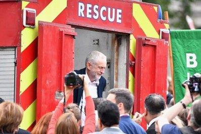 Jeremy Corbyn Protest Rally