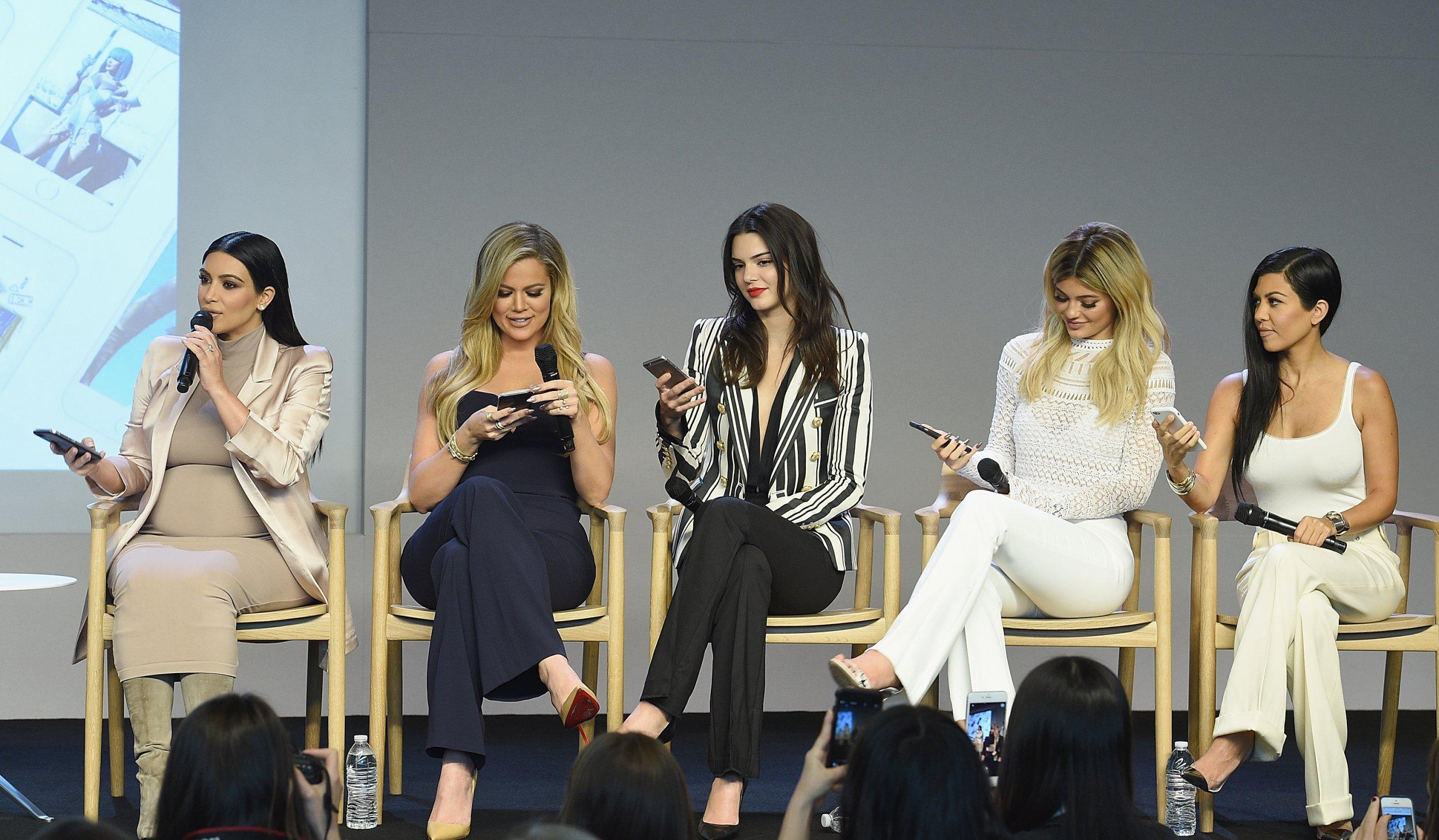 Kim, Khloe, Kourtney, Kylie and Kendall