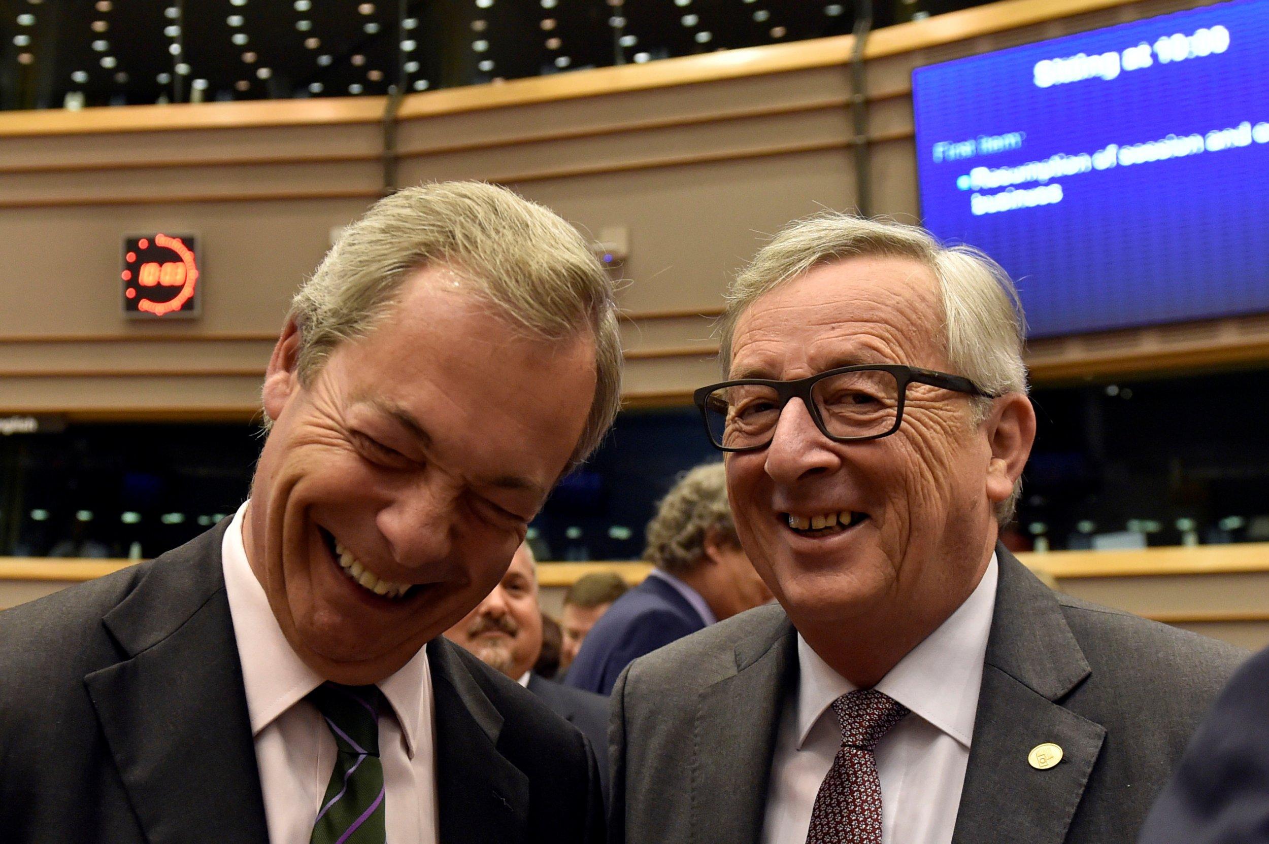 Juncker and Farage
