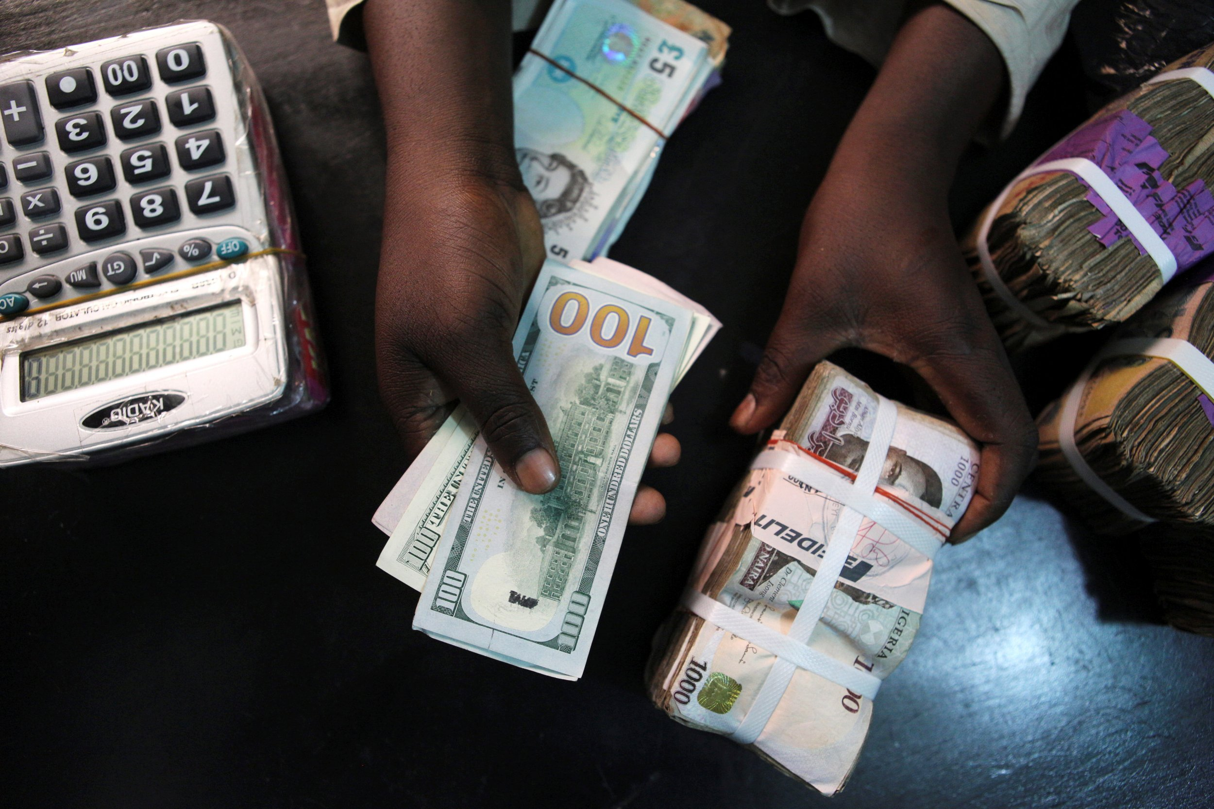 Currency exchange naira to dollar