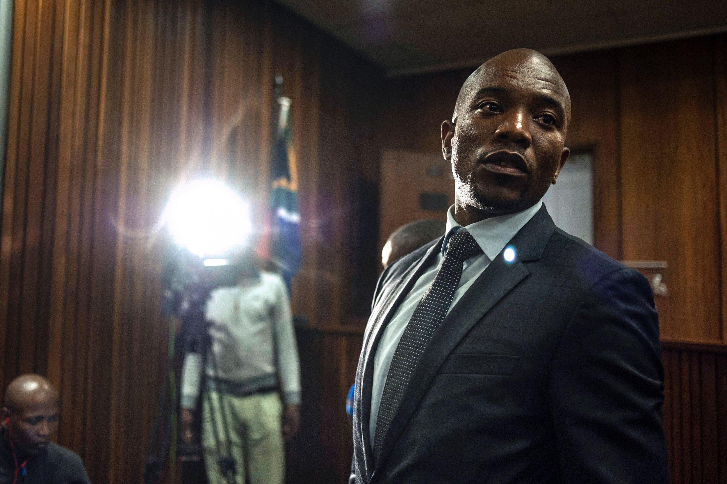 Mmusi Maimane after Zuma corruption ruling