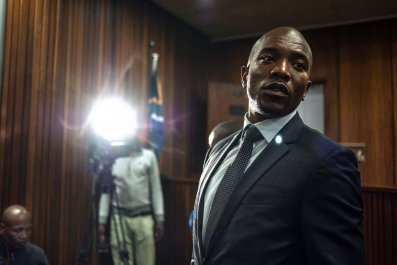 Mmusi Maimane after Zuma corruption ruling